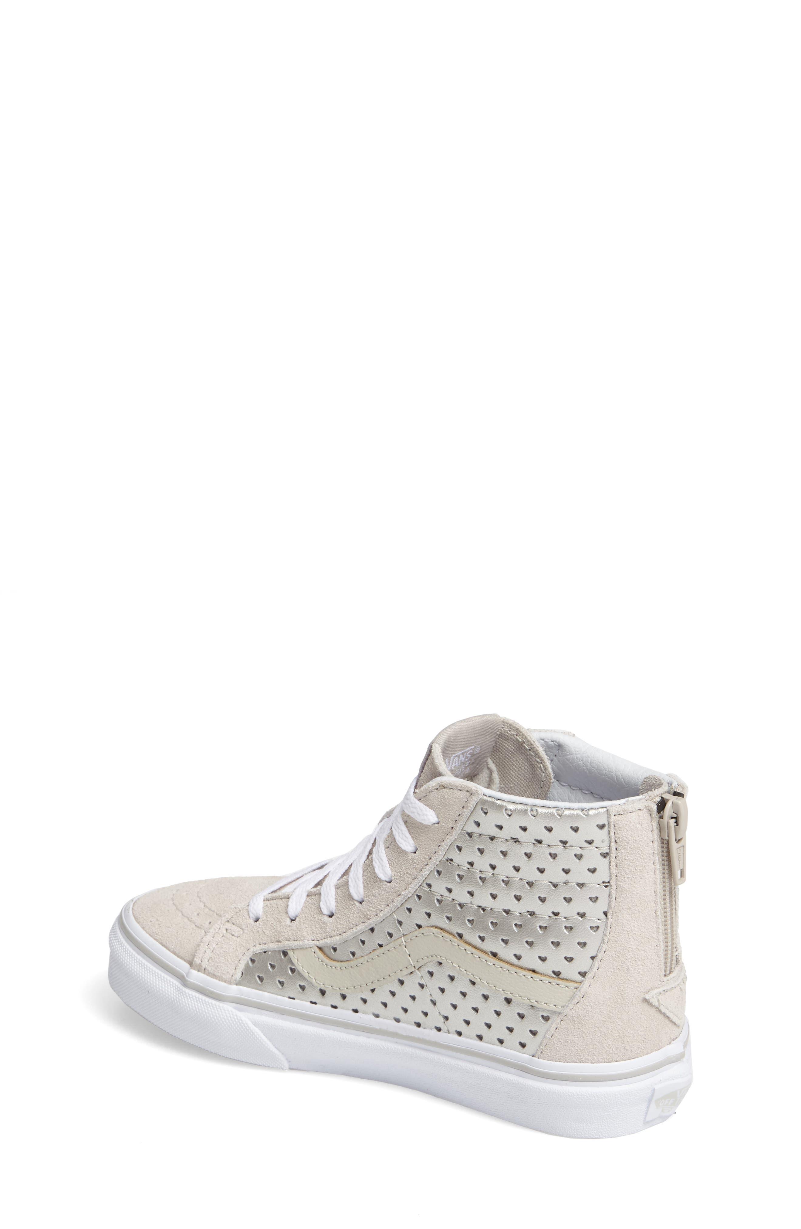Sk8-Hi Zip Sneaker,                             Alternate thumbnail 2, color,                             040