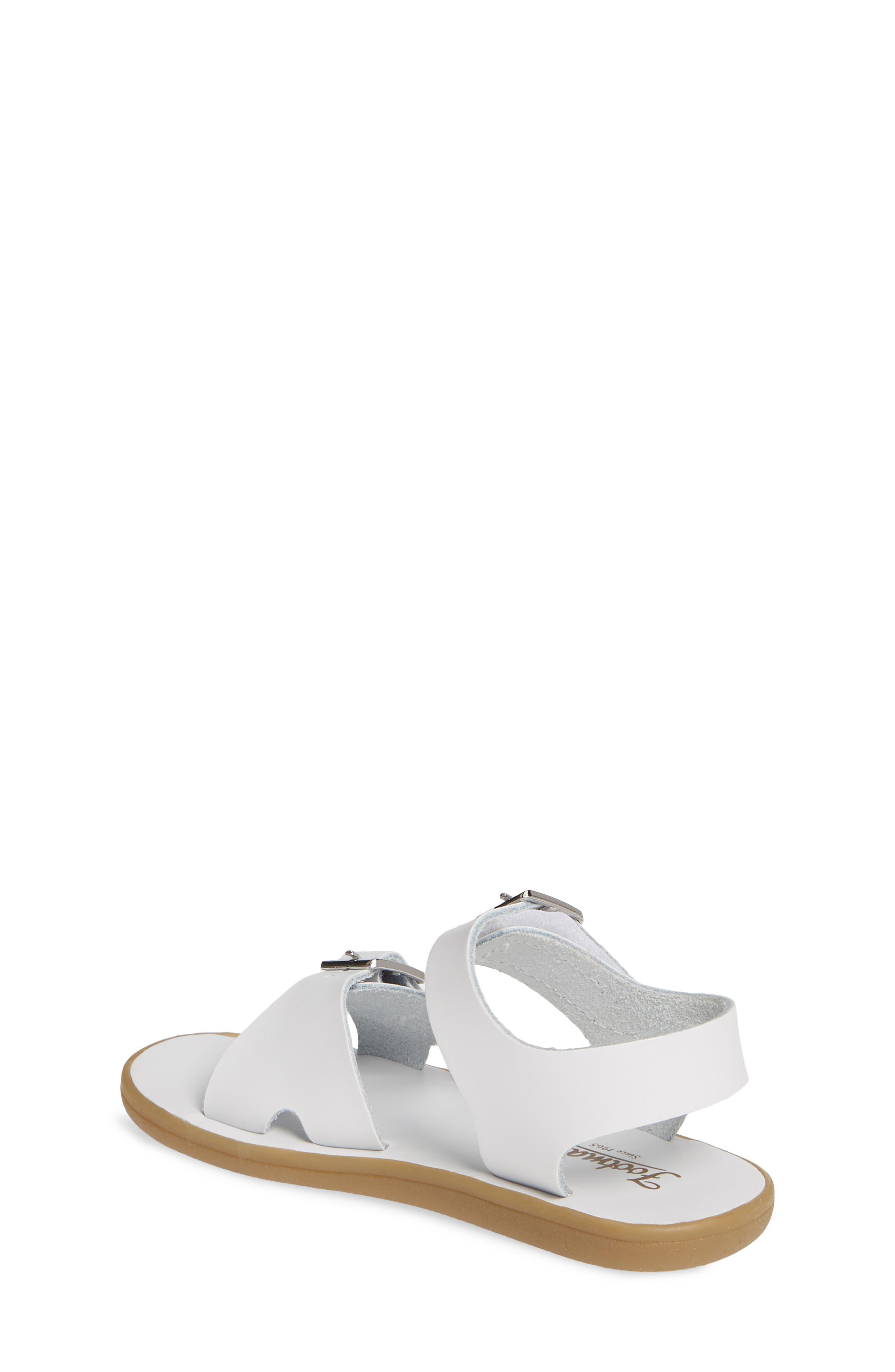FOOTMATES,                             Tide Waterproof Sandal,                             Alternate thumbnail 2, color,                             WHITE