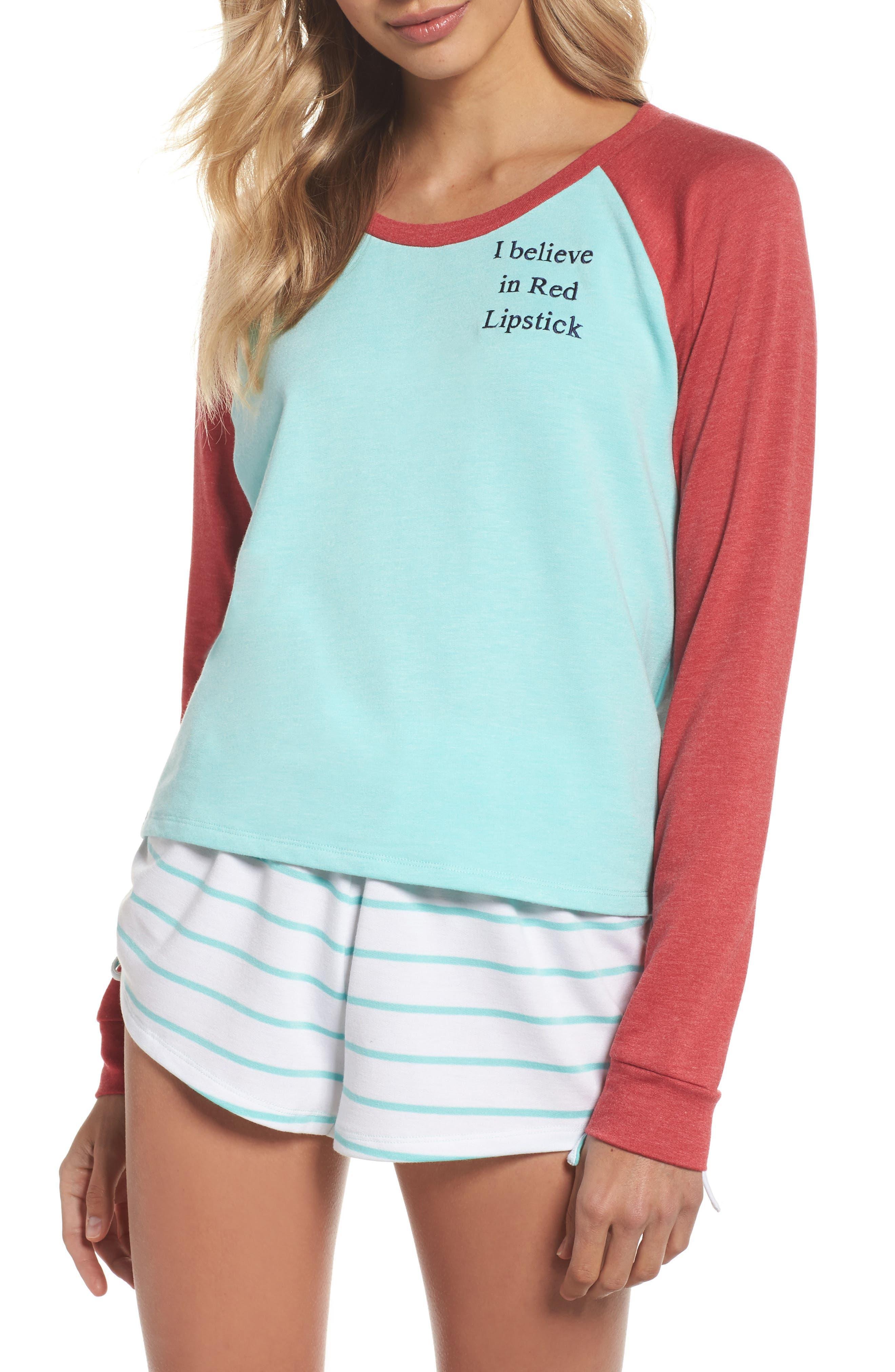 Short Pajamas,                             Main thumbnail 3, color,