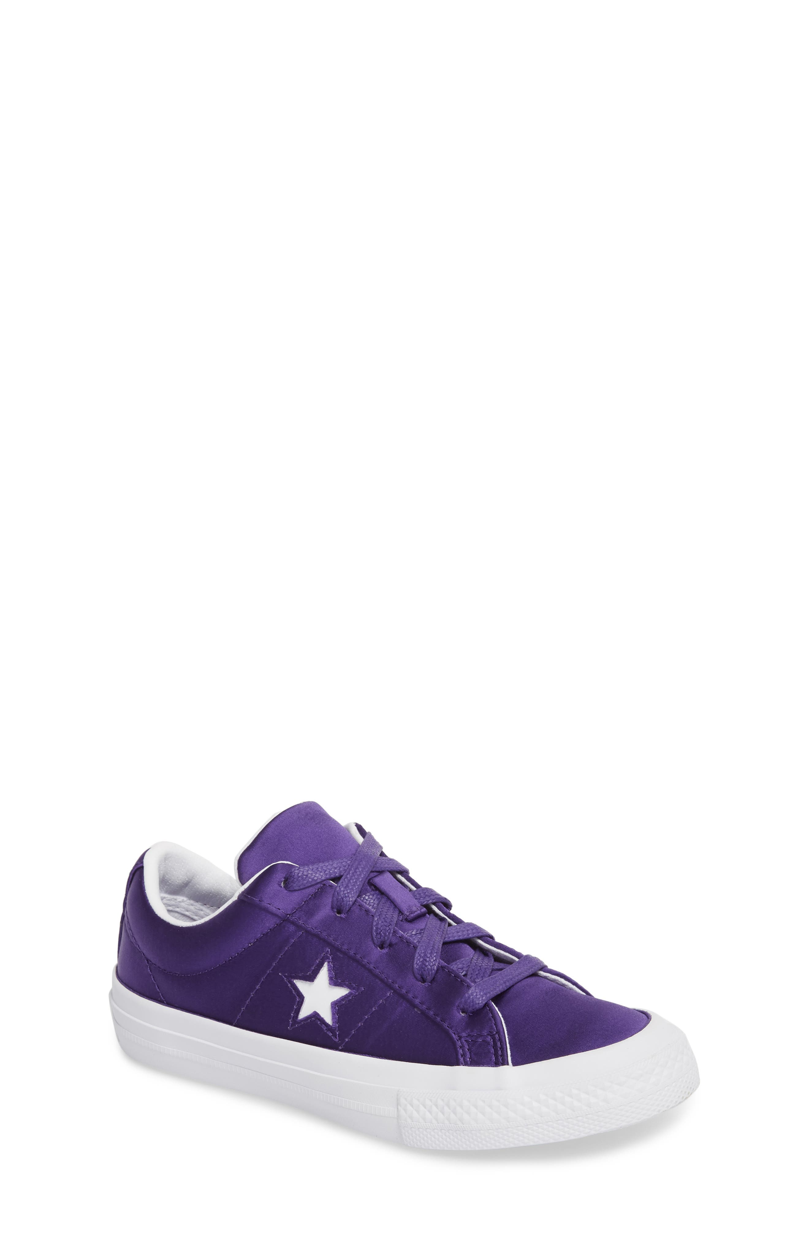 Chuck Taylor<sup>®</sup> All Star<sup>®</sup> One Star Satin Low Top Sneaker,                         Main,                         color, 510