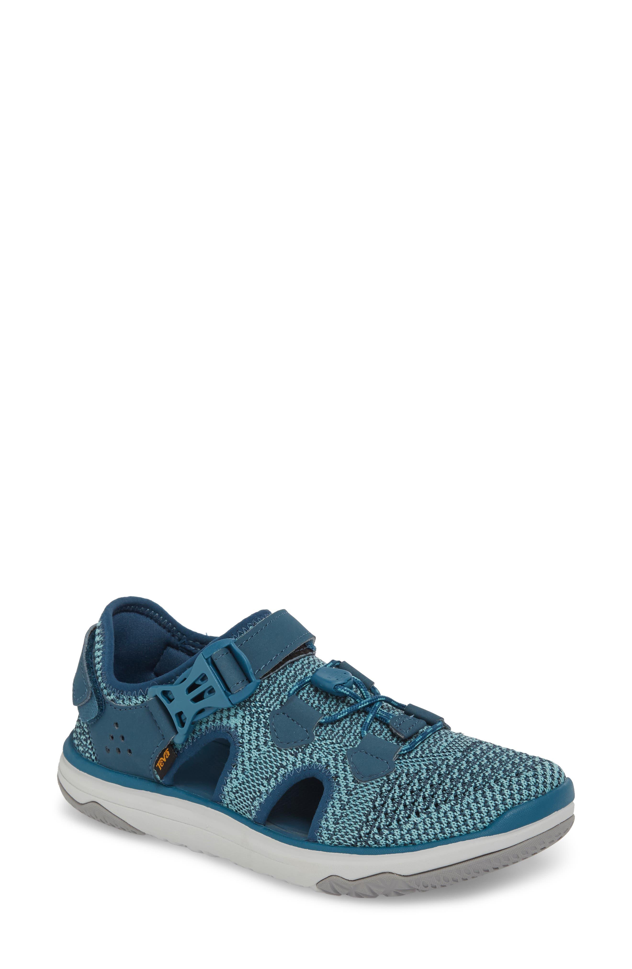 Terra Float Travel Knit Active Sandal,                             Main thumbnail 1, color,                             LEGION BLUE