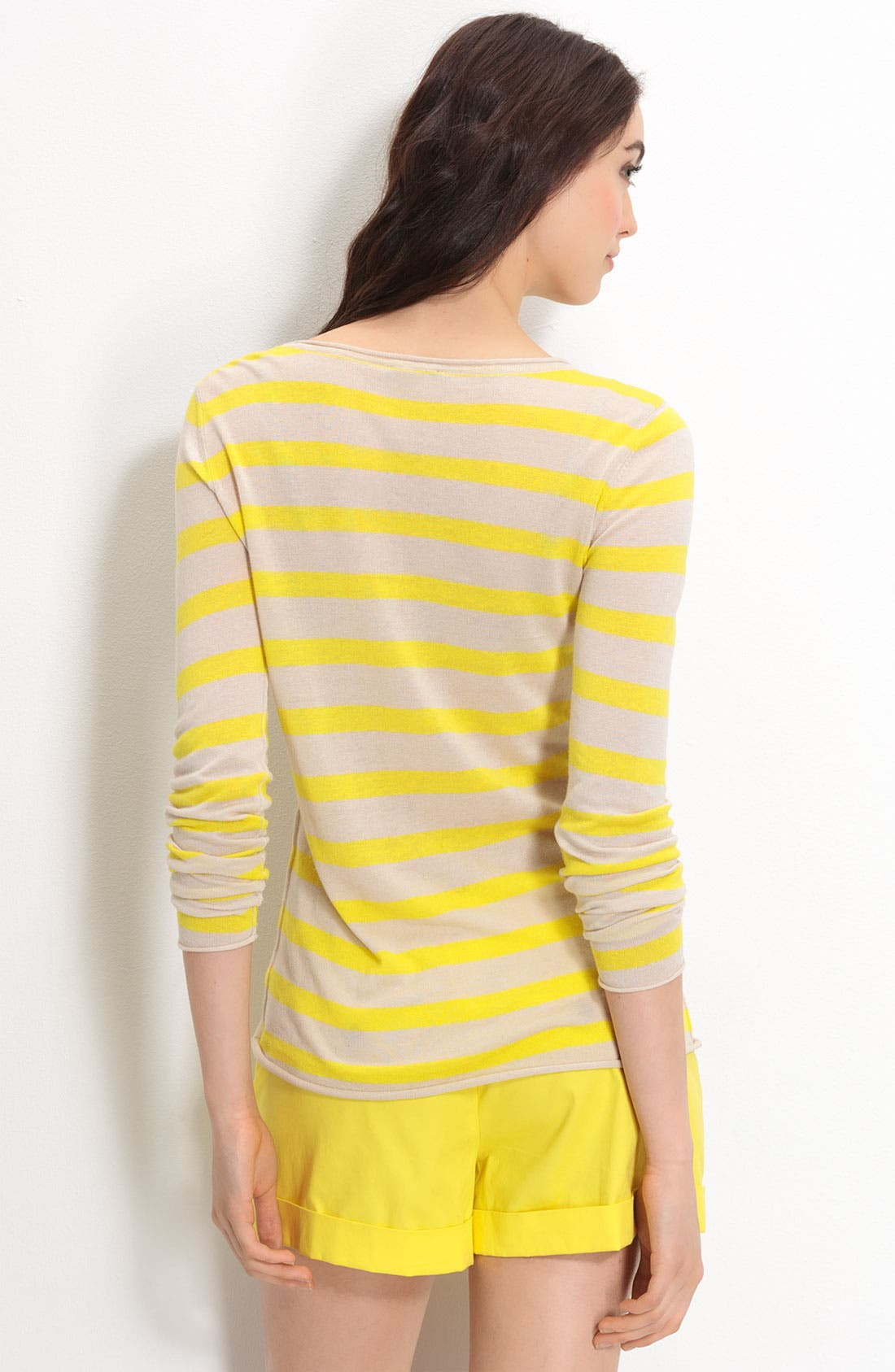 Stripe Sweater,                             Alternate thumbnail 3, color,                             754