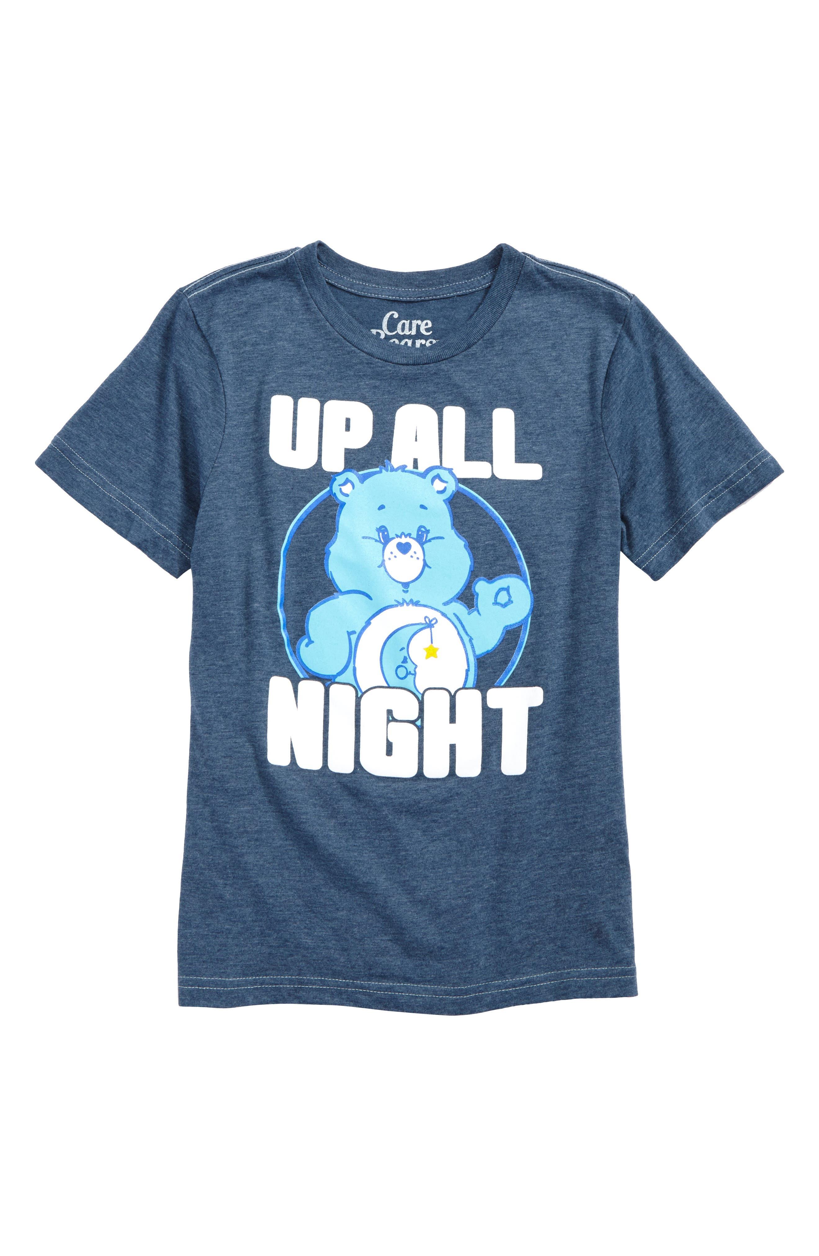 Care Bears<sup>™</sup> Up All Night T-Shirt,                             Main thumbnail 1, color,                             400