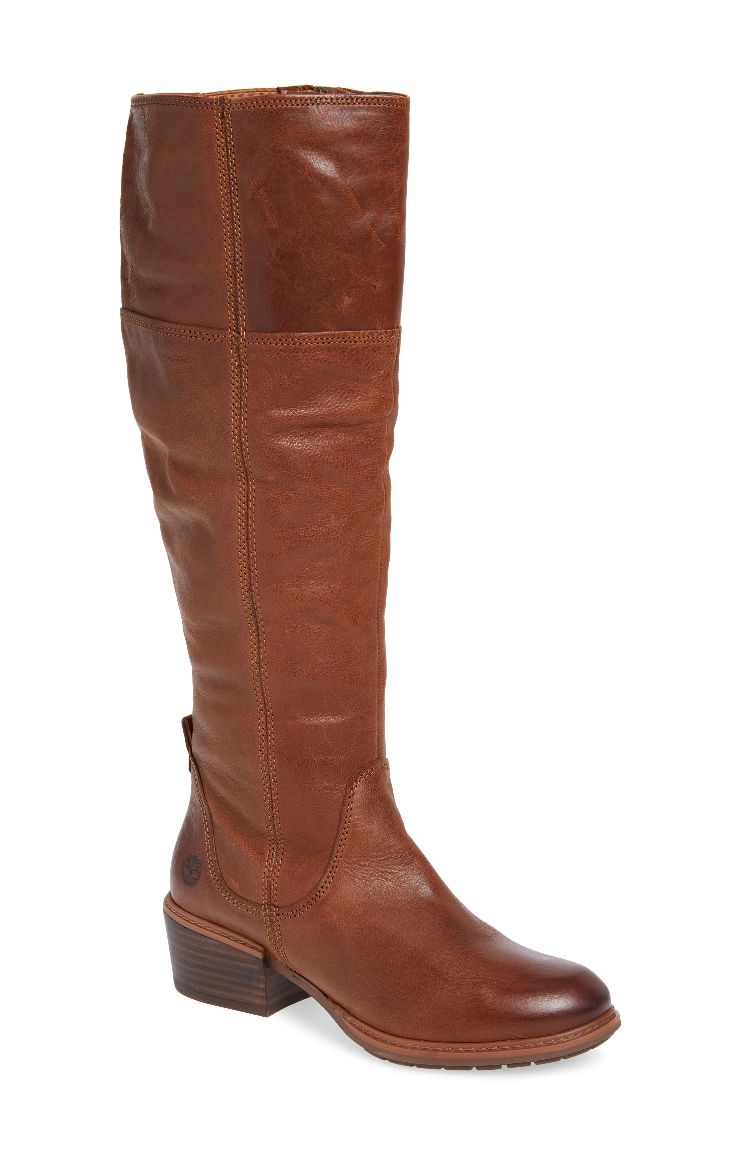 Timberland Sutherlin Bay Slouch Knee High Boot- Brown