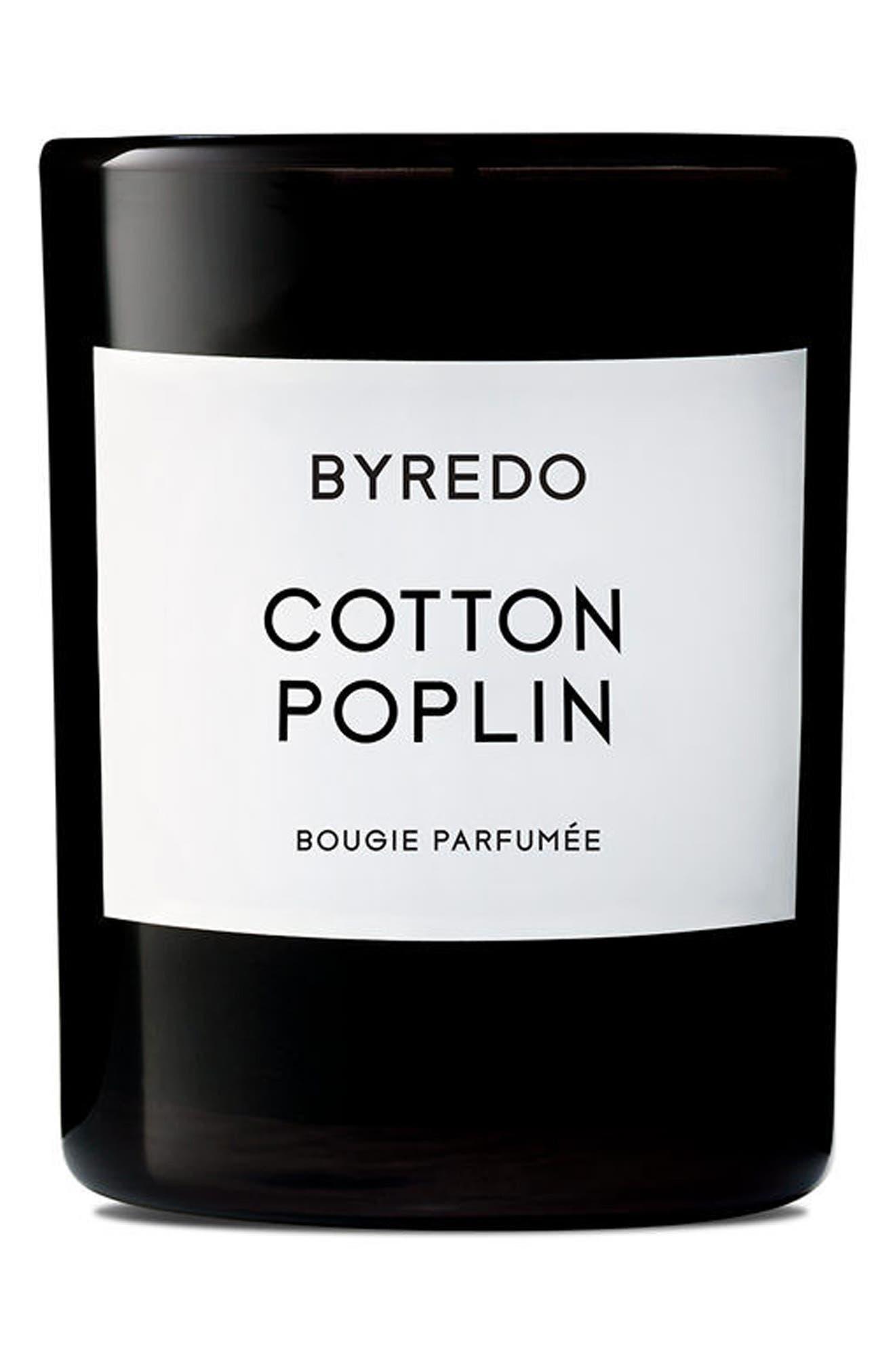 Cotton Poplin Candle,                             Alternate thumbnail 2, color,                             NO COLOR