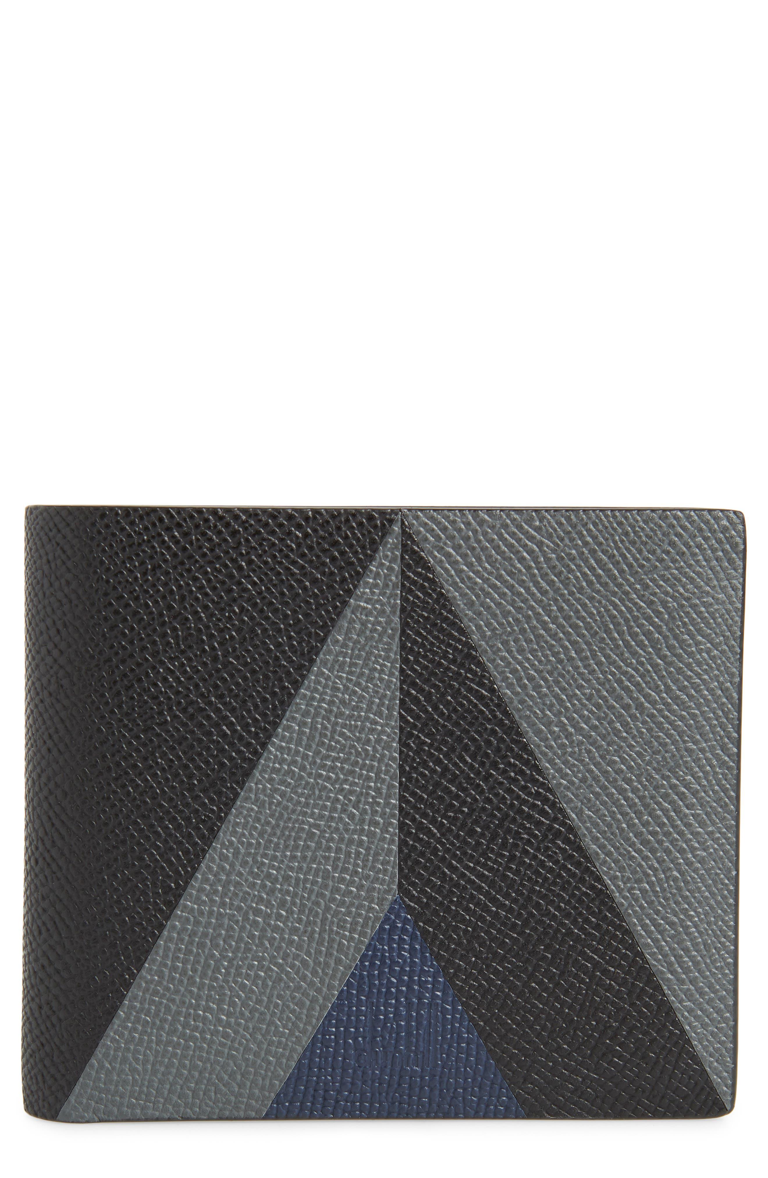 Cadogan Leather Wallet, Main, color, BLACK