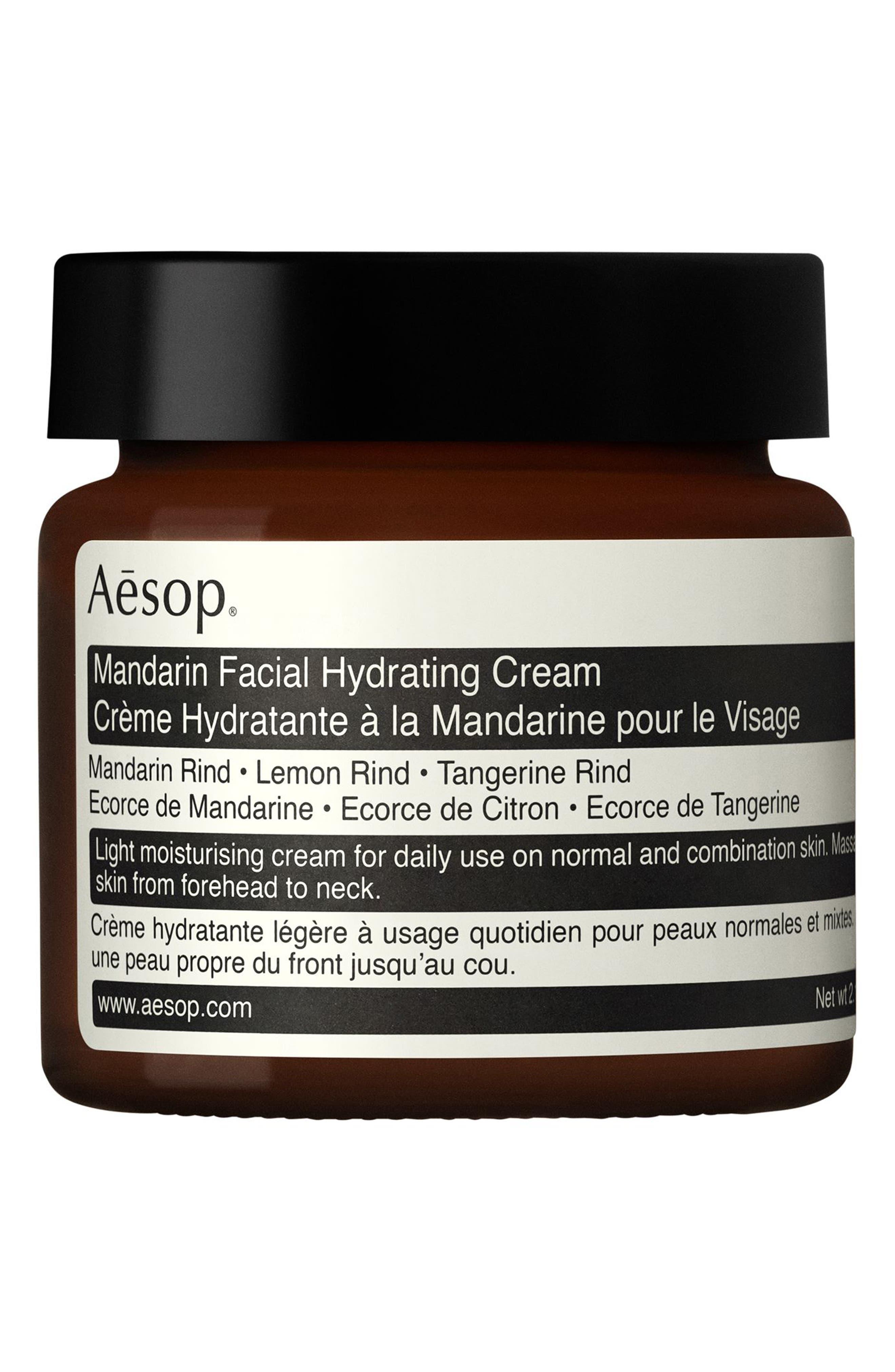 AESOP,                             Mandarin Facial Hydrating Cream,                             Main thumbnail 1, color,                             NONE