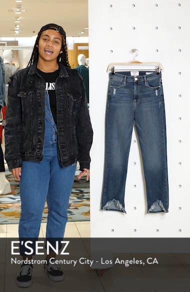 Le High Straight Curve Hem Jeans, sales video thumbnail