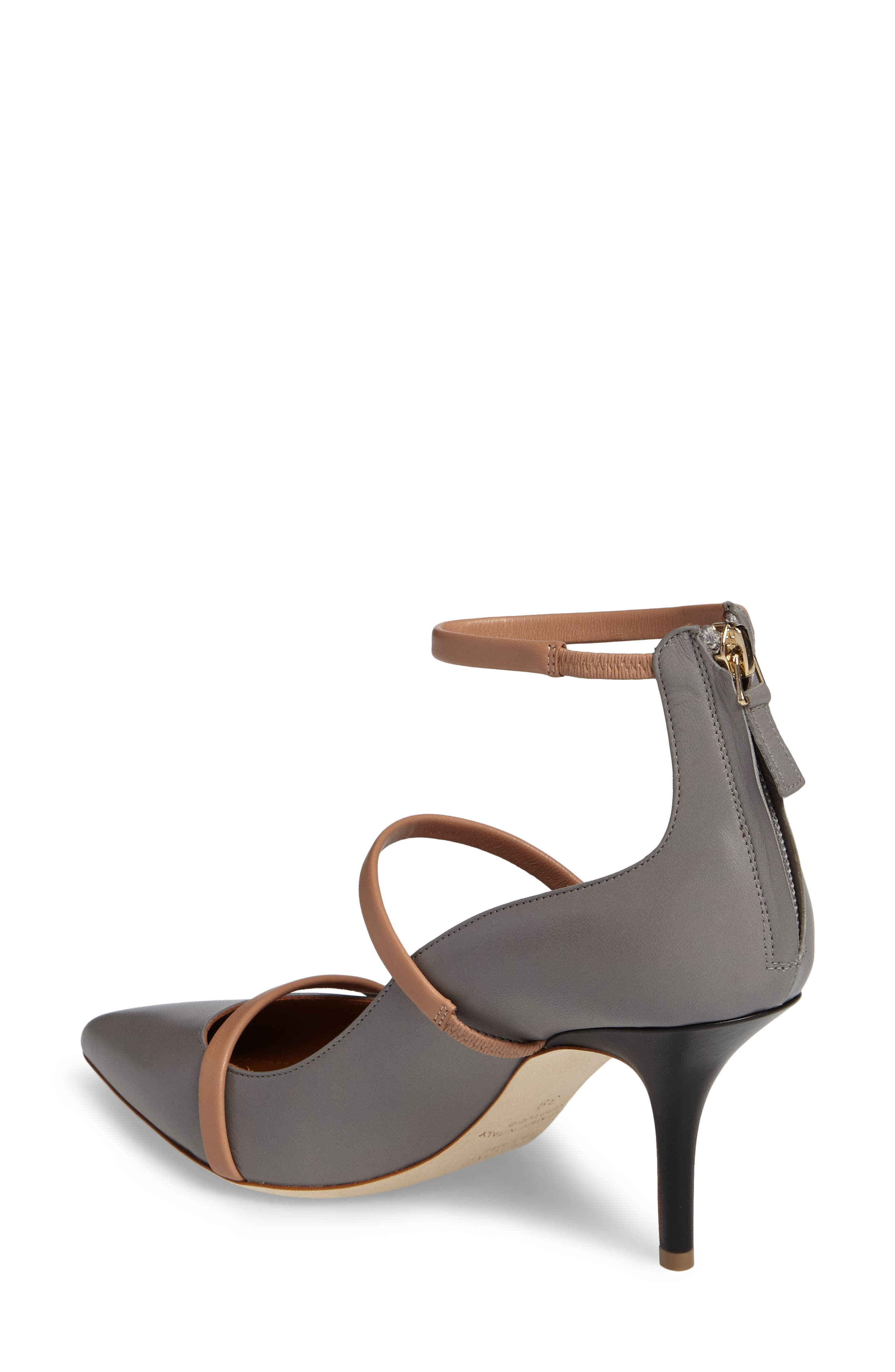 Robyn Ankle Strap Pump,                             Alternate thumbnail 2, color,                             020