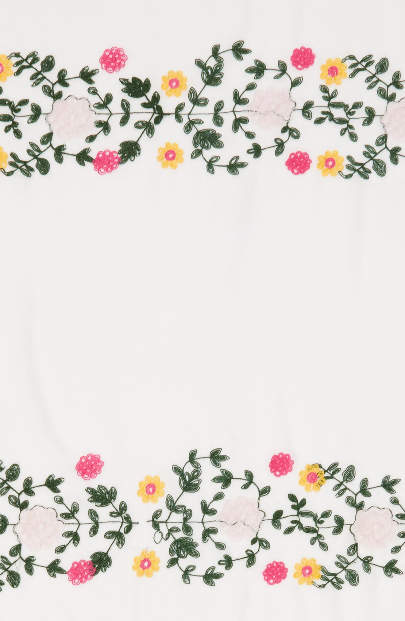 Embroidered Square Scarf,                             Alternate thumbnail 11, color,