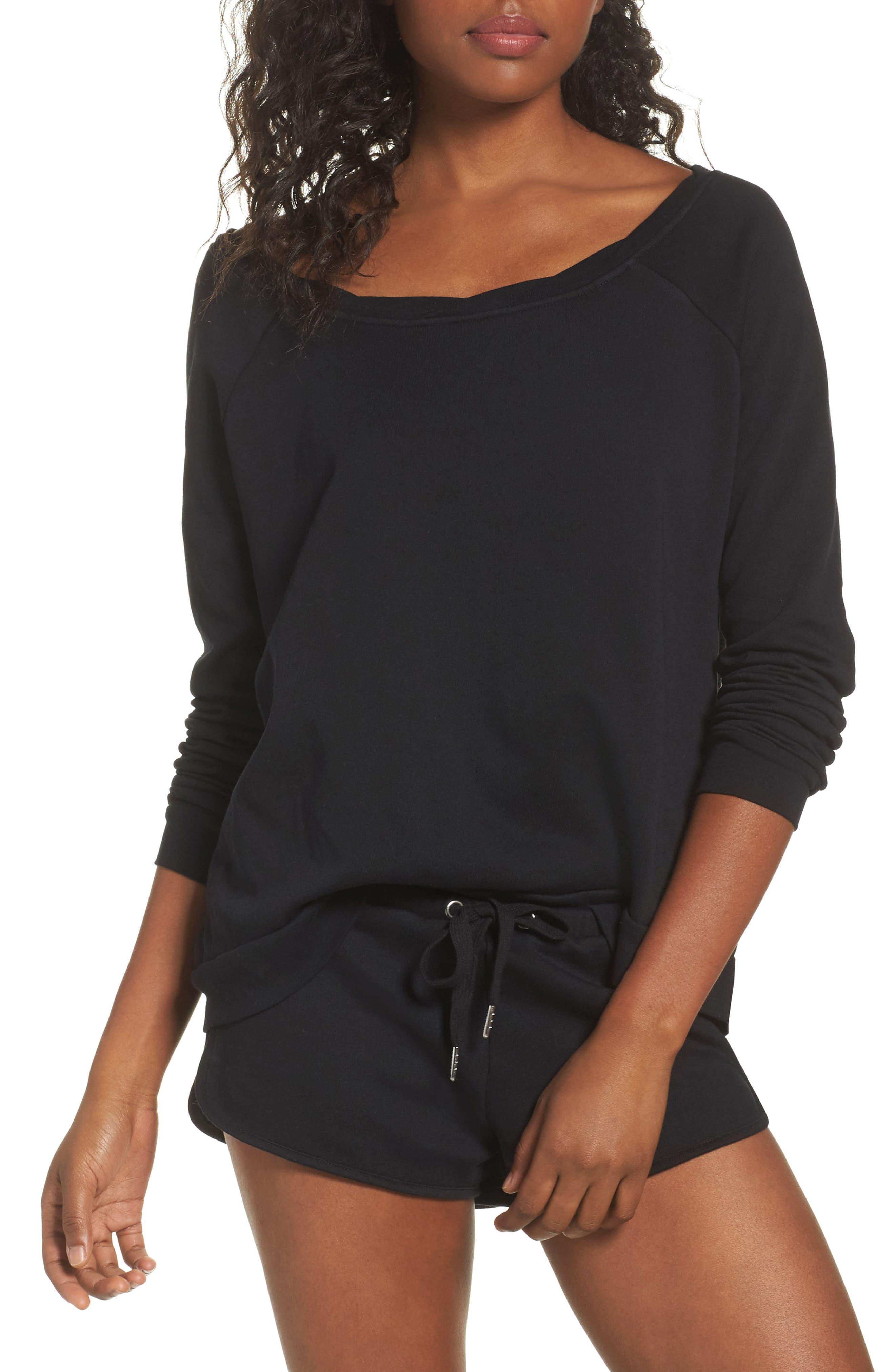 Cozy Lounge Sweatshirt,                         Main,                         color, 001