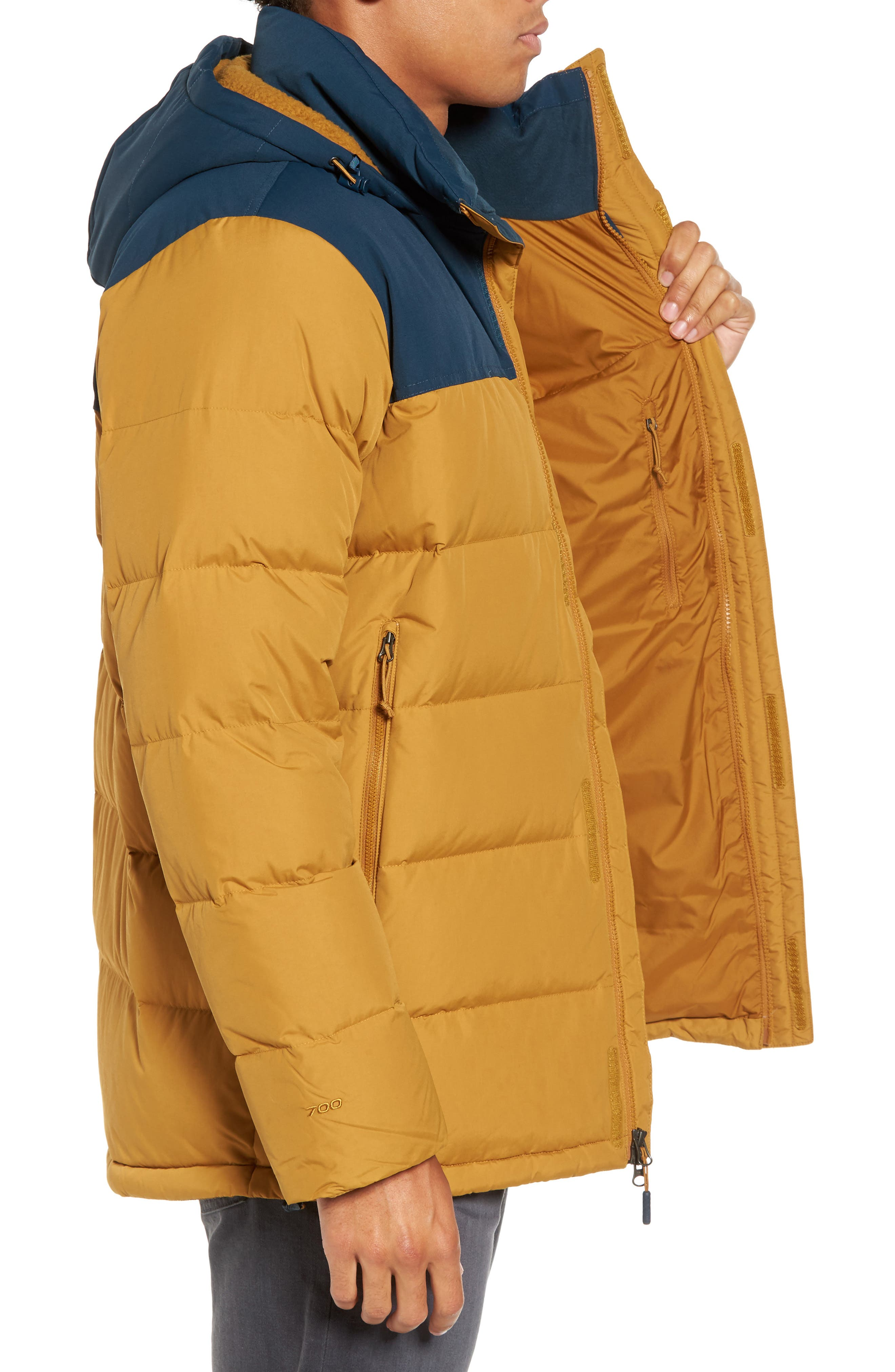 Nuptse Ridge Down Jacket,                             Alternate thumbnail 14, color,