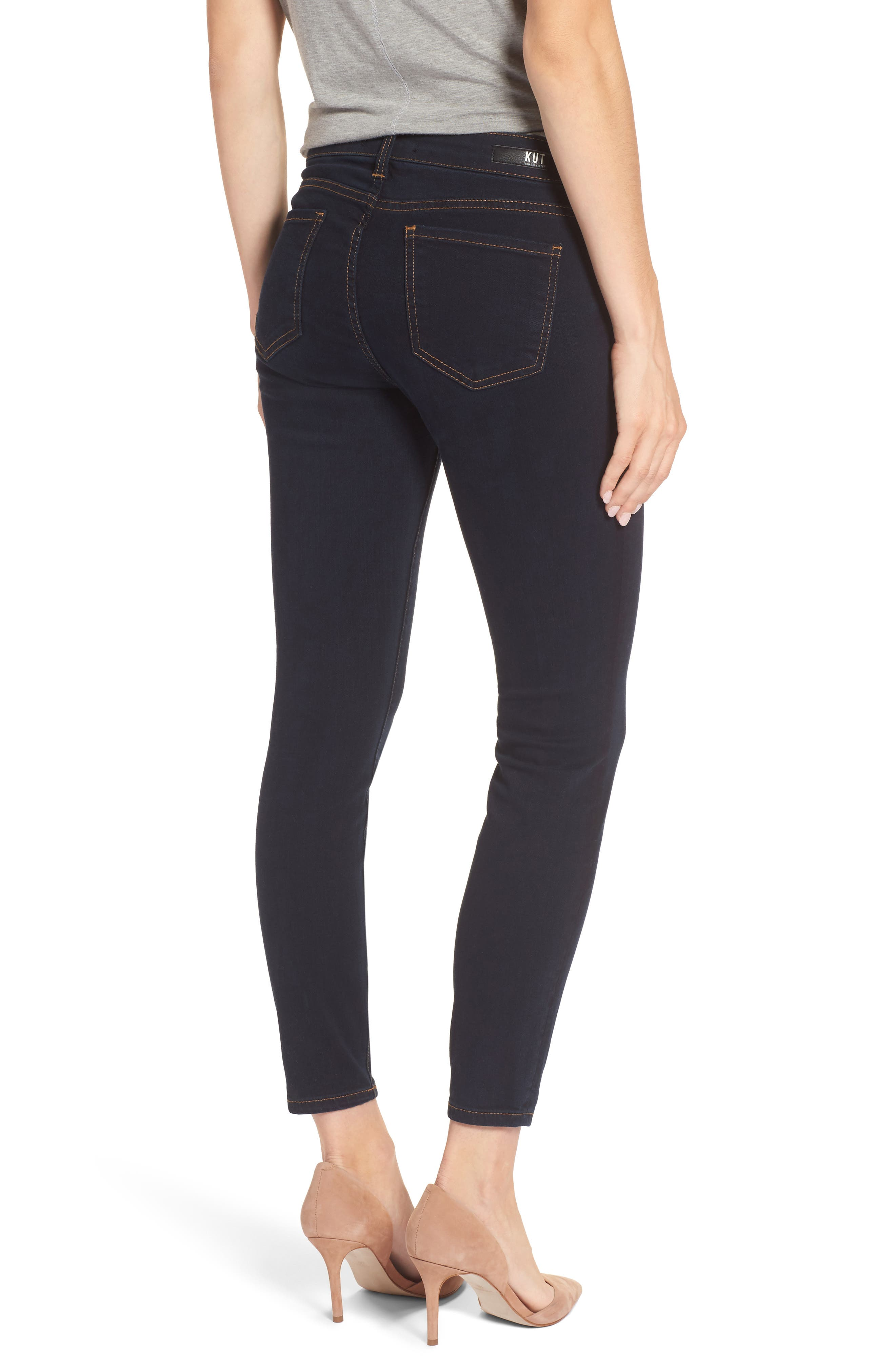 Connie Ankle Skinny Jeans,                             Alternate thumbnail 2, color,                             437