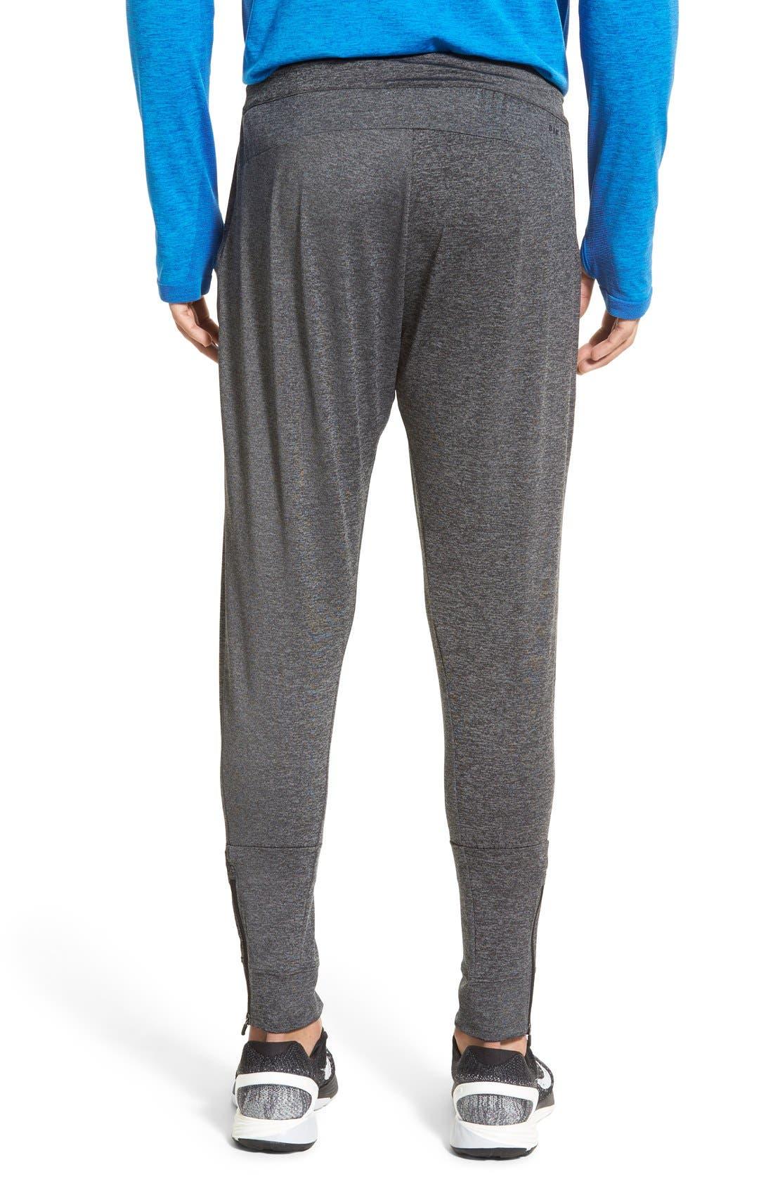 NIKE,                             'Ultimate Dry Knit' Dri-FIT Training Pants,                             Alternate thumbnail 4, color,                             010