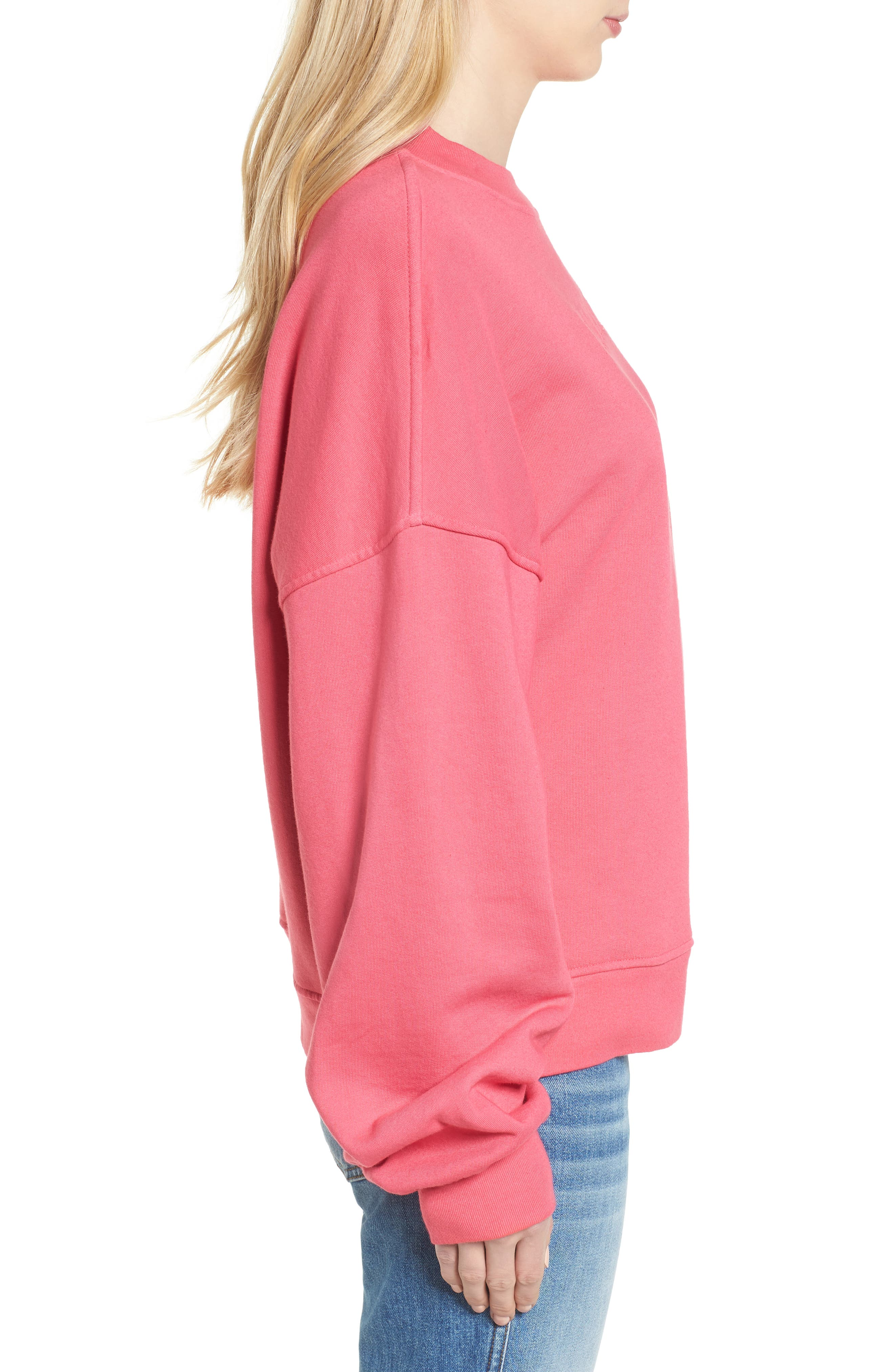 Mankind Outline Embroidered Sweatshirt,                             Alternate thumbnail 3, color,