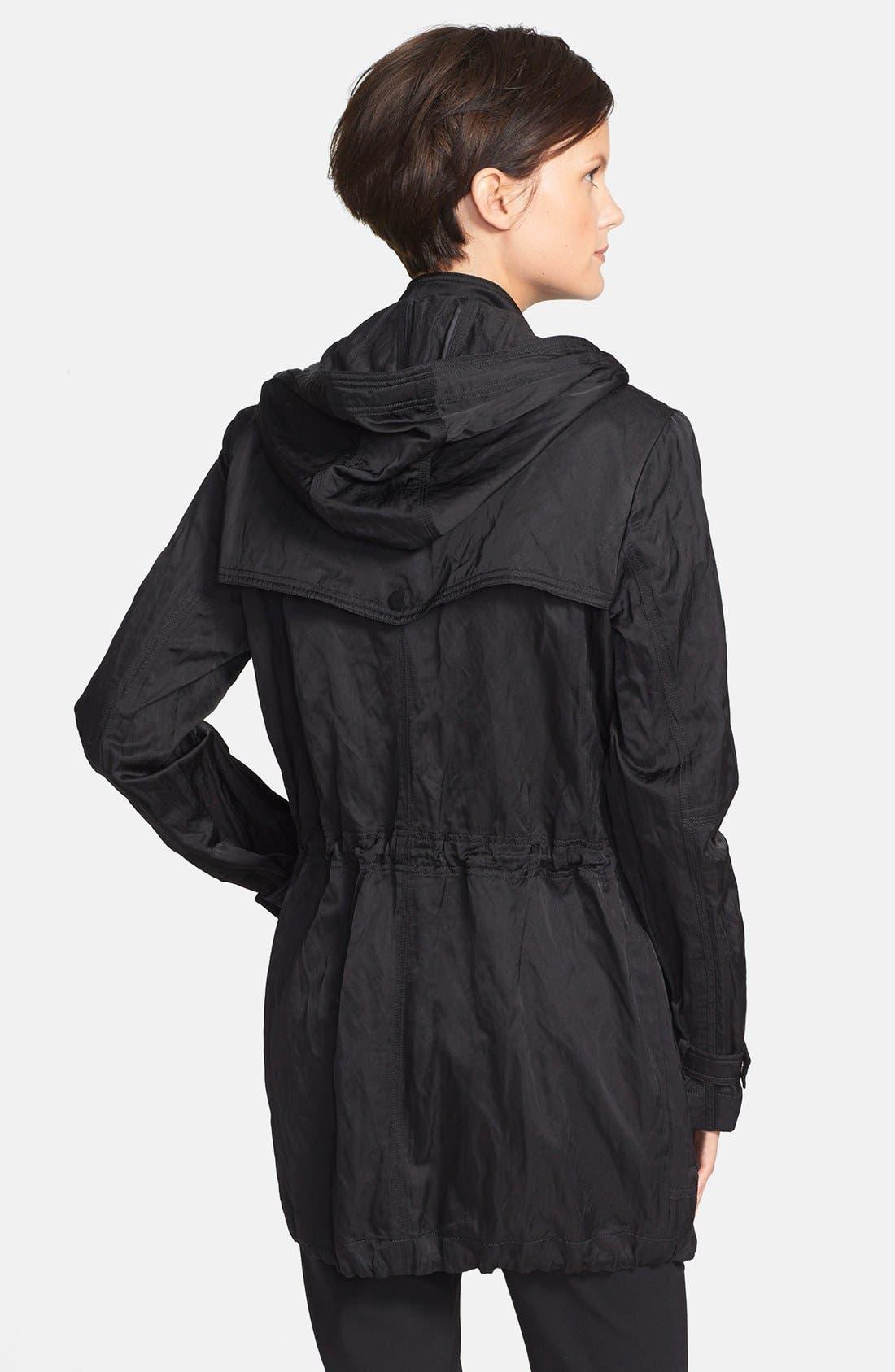 'Luxe' Anorak Jacket,                             Alternate thumbnail 4, color,                             001