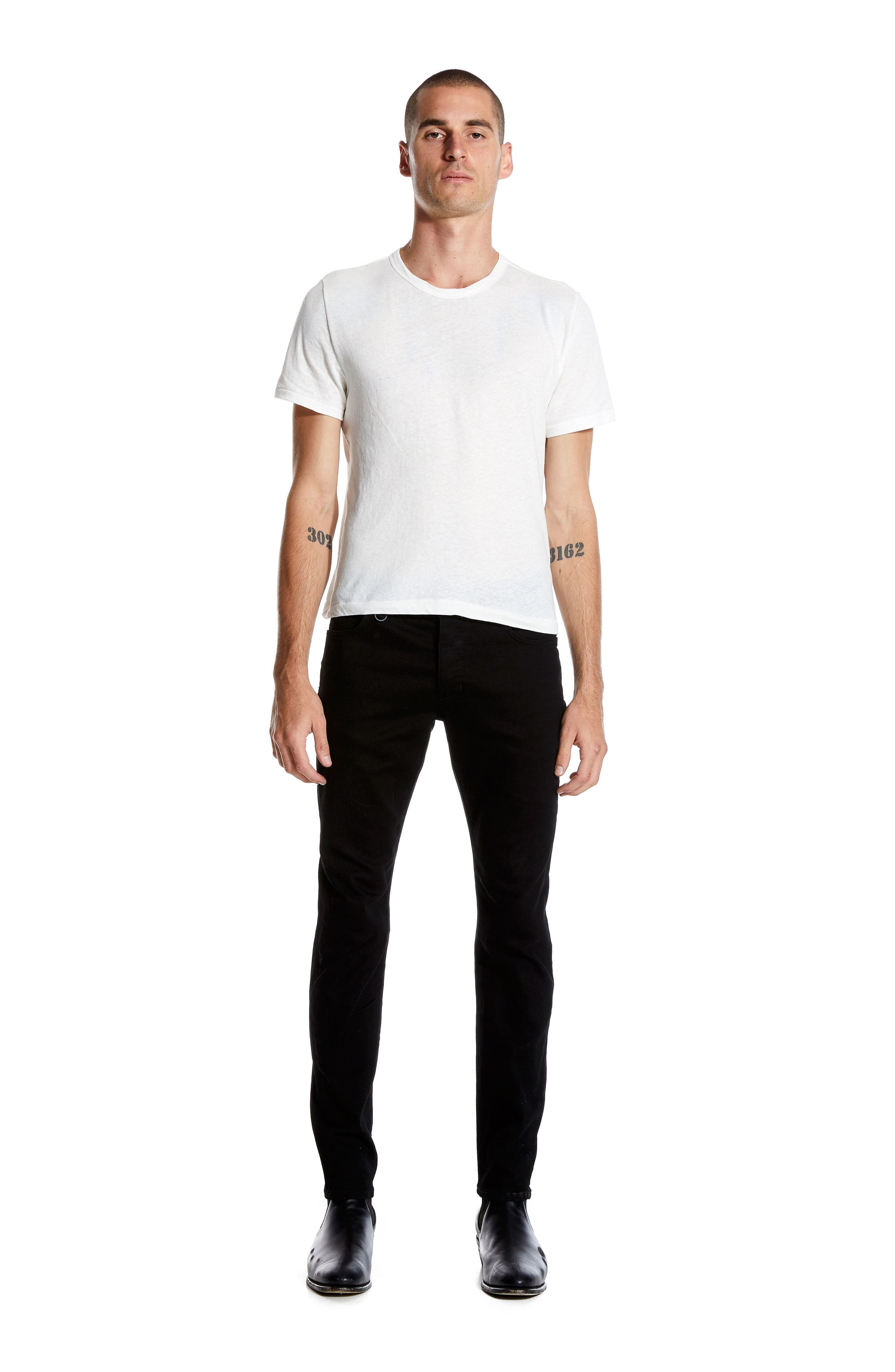 Iggy Skinny Fit Jeans,                             Alternate thumbnail 8, color,                             PERFECTO