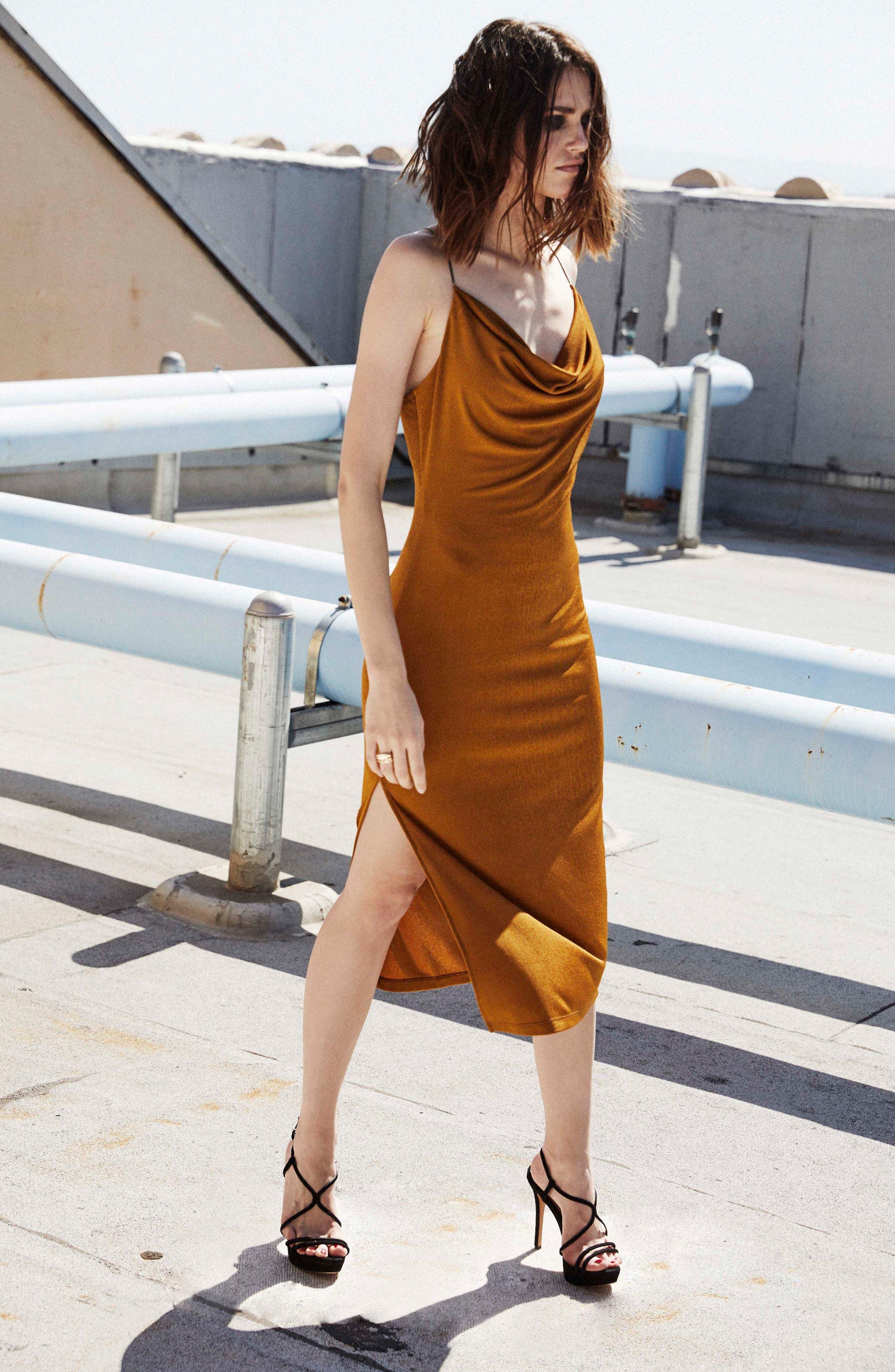 Ivana Midi Dress,                             Alternate thumbnail 18, color,