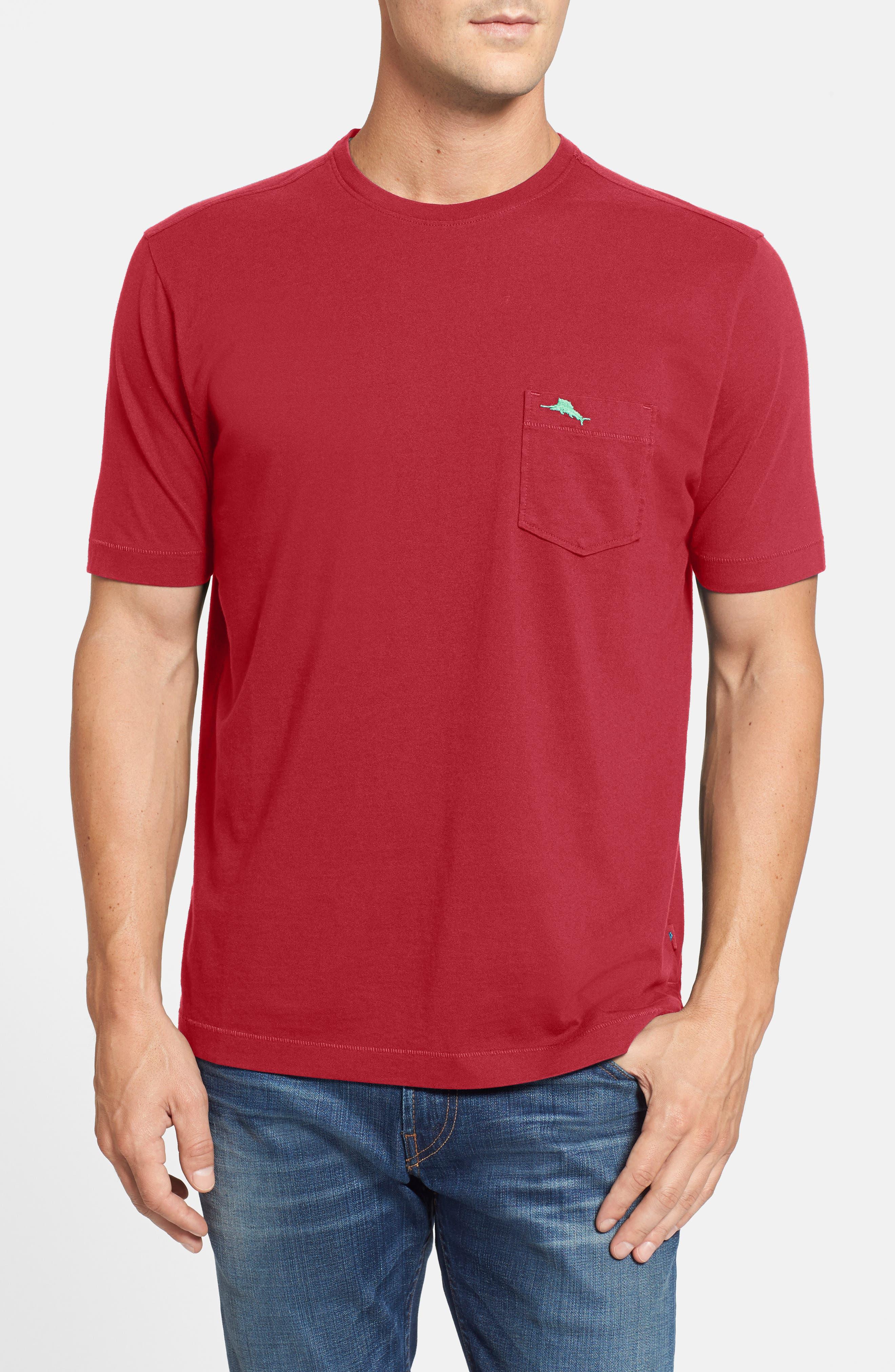 New Bali Sky Pima Cotton Pocket T-Shirt,                             Main thumbnail 49, color,