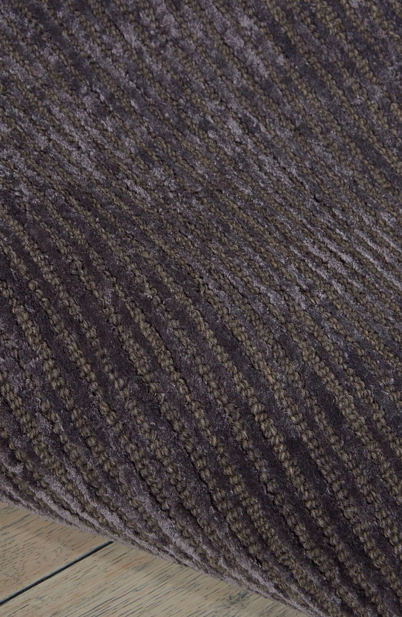 Ravine Furrow Handwoven Area Rug,                             Alternate thumbnail 5, color,                             001