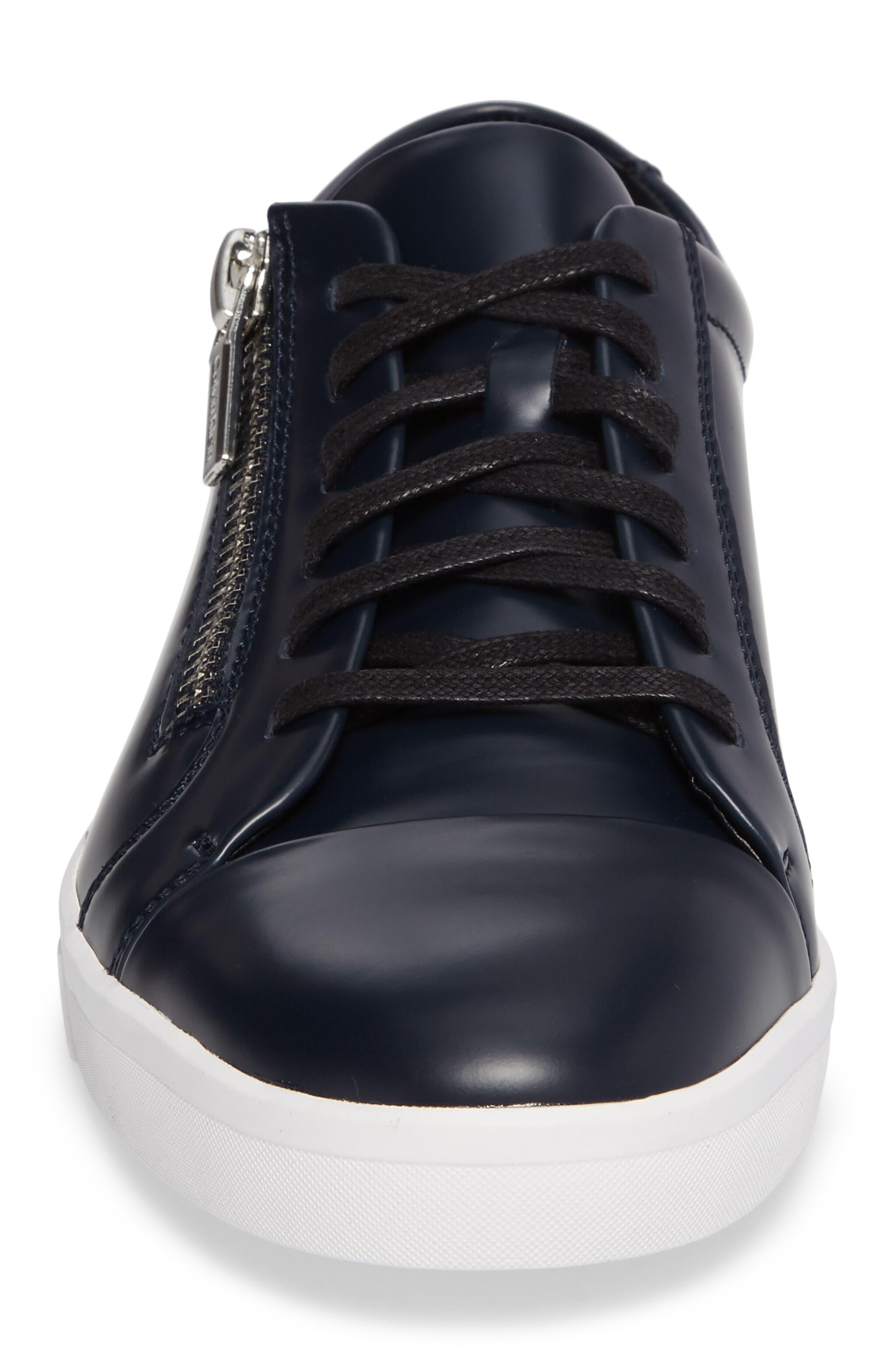 Ibrahim Cap-Toe Zip Sneaker,                             Alternate thumbnail 12, color,