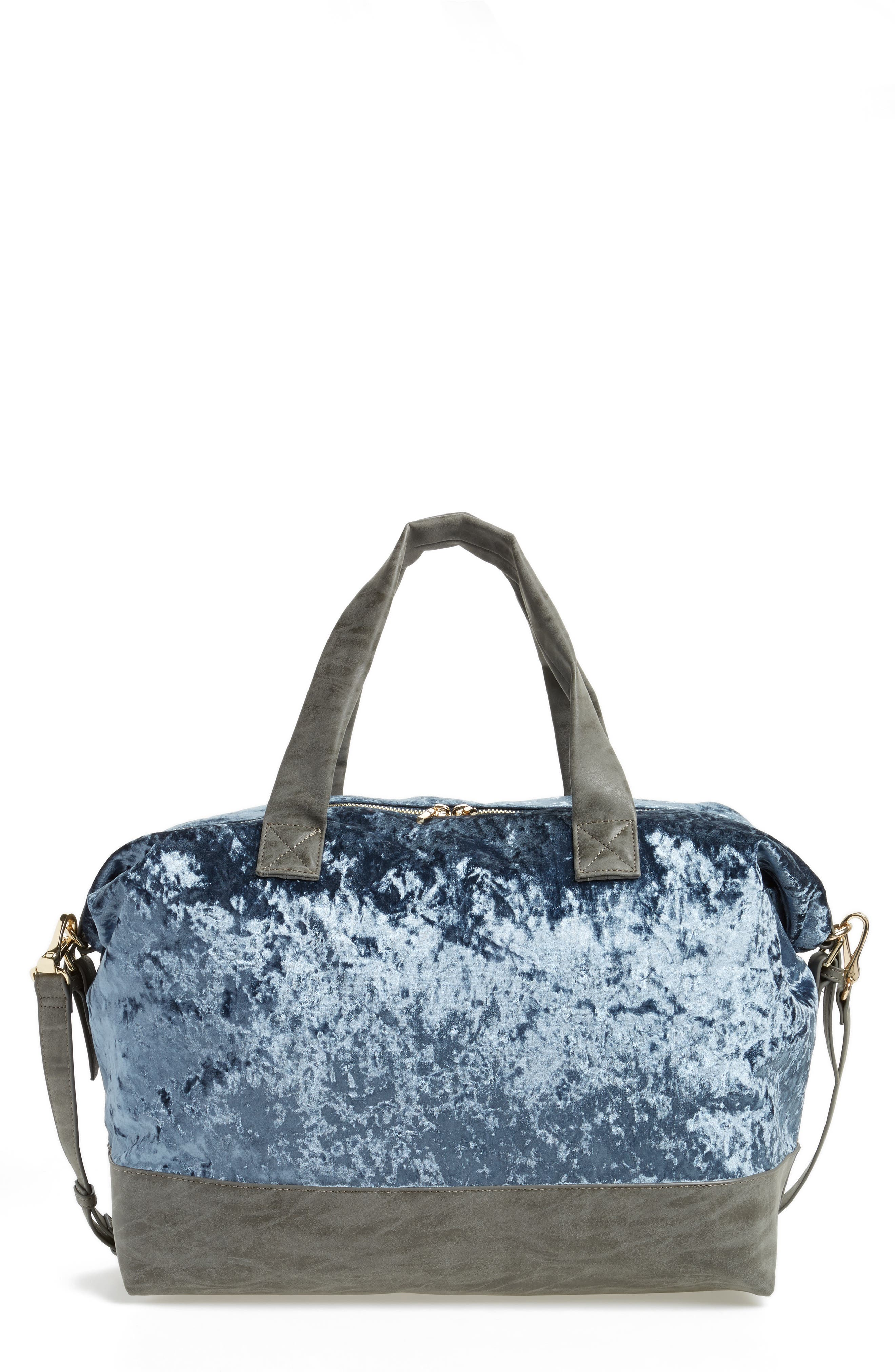 Venti Velvet Duffel Bag,                             Main thumbnail 2, color,