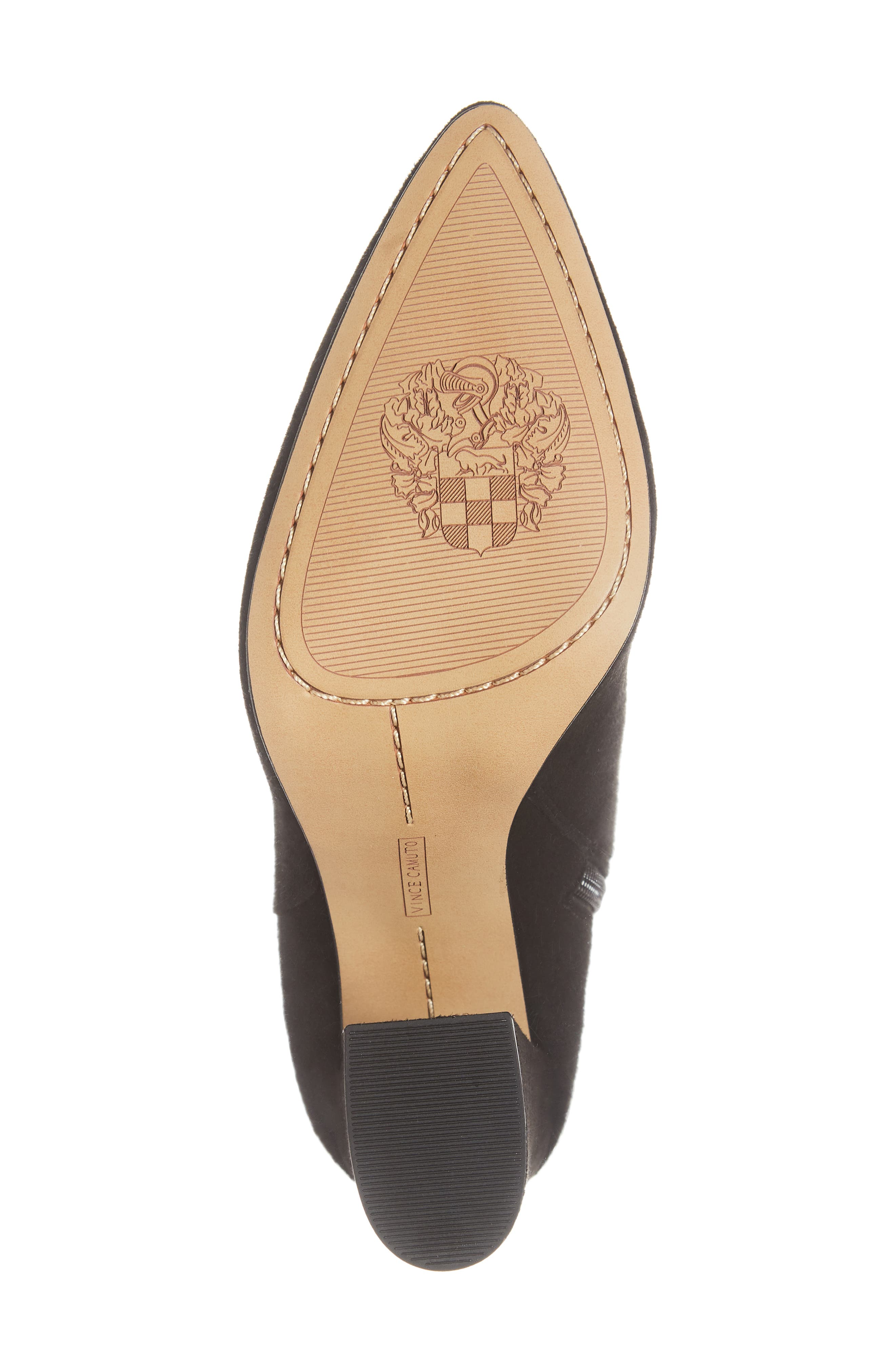 VINCE CAMUTO,                             Thelmin Genuine Calf Hair Bootie,                             Alternate thumbnail 6, color,                             003
