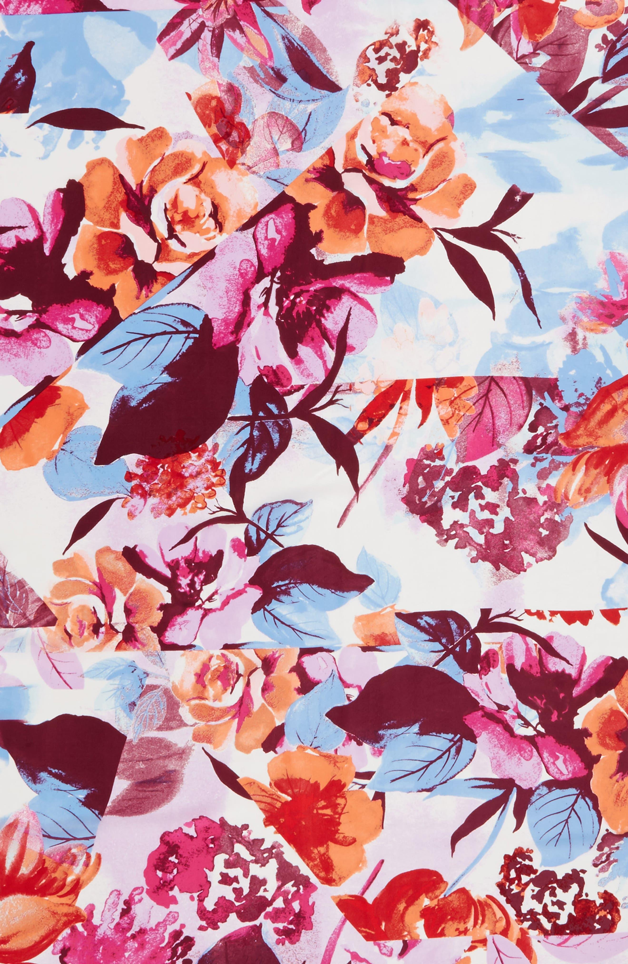 Print Silk Square Scarf,                             Alternate thumbnail 31, color,