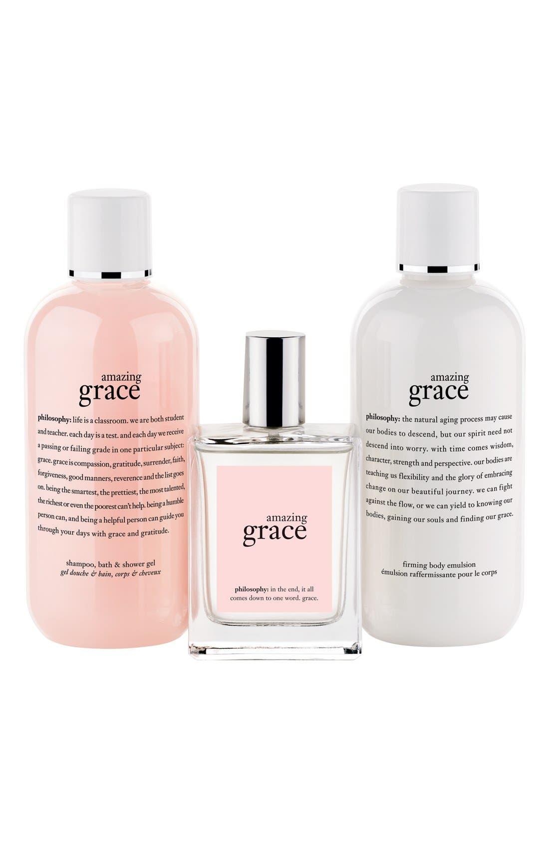 PHILOSOPHY,                             'amazing grace' set,                             Alternate thumbnail 2, color,                             000