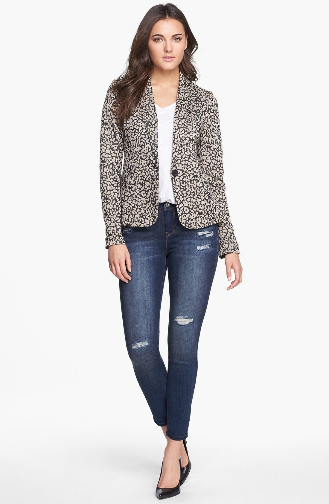 Knit Blazer,                             Alternate thumbnail 89, color,