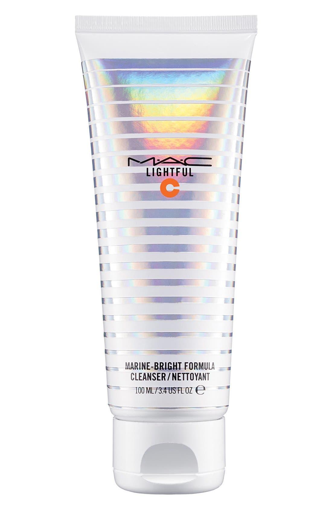 MAC Lightful C Marine-Bright Formula Cleanser,                         Main,                         color, 000