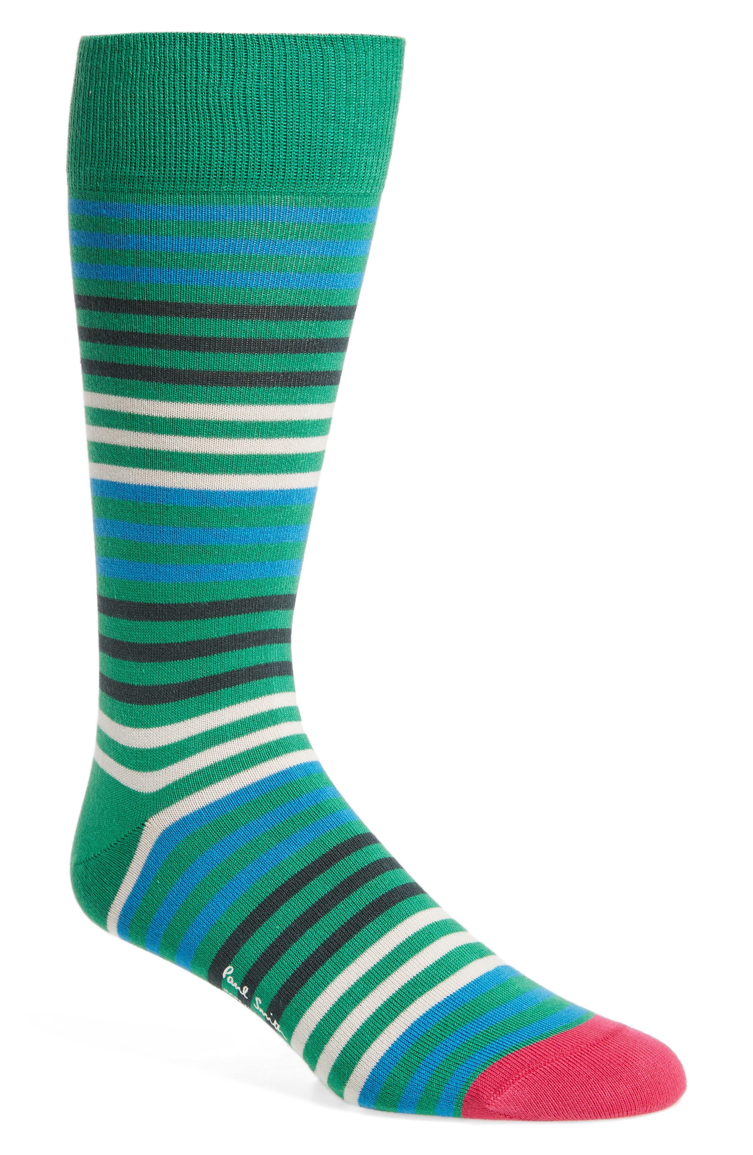 Sanny Stripe Socks,                         Main,                         color, 315