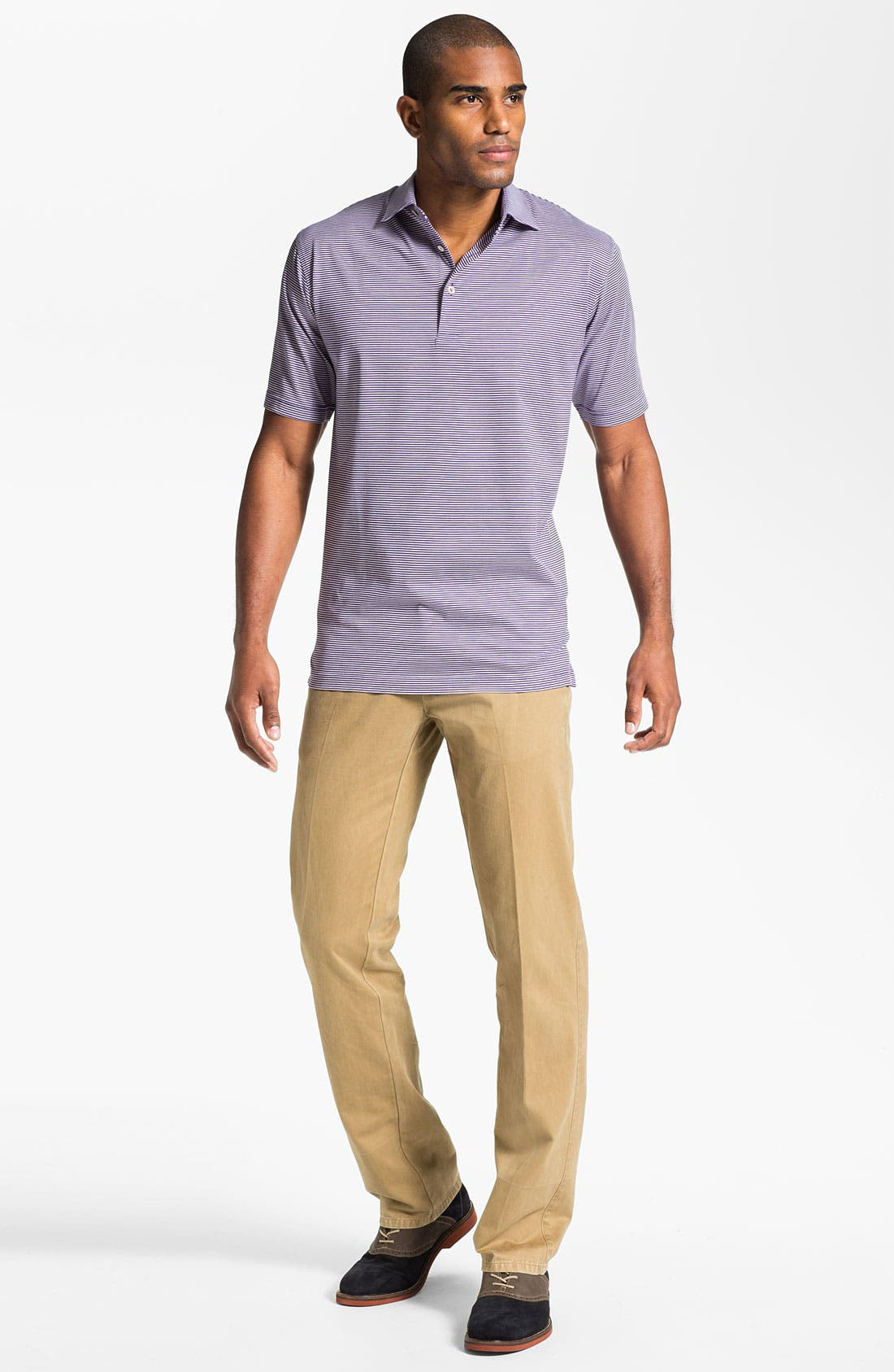 Garment Washed Twill Pants,                             Alternate thumbnail 68, color,
