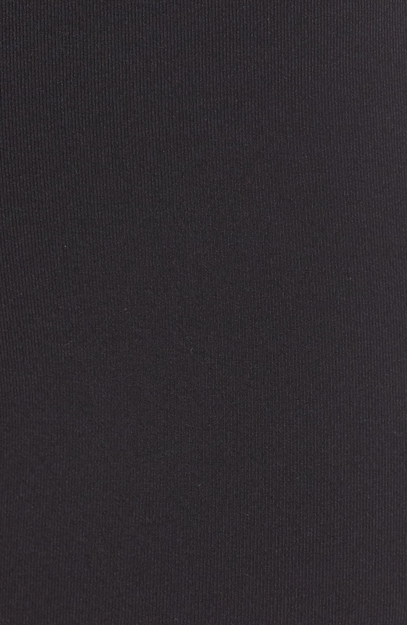 Airbrush Shorts,                             Alternate thumbnail 6, color,                             BLACK