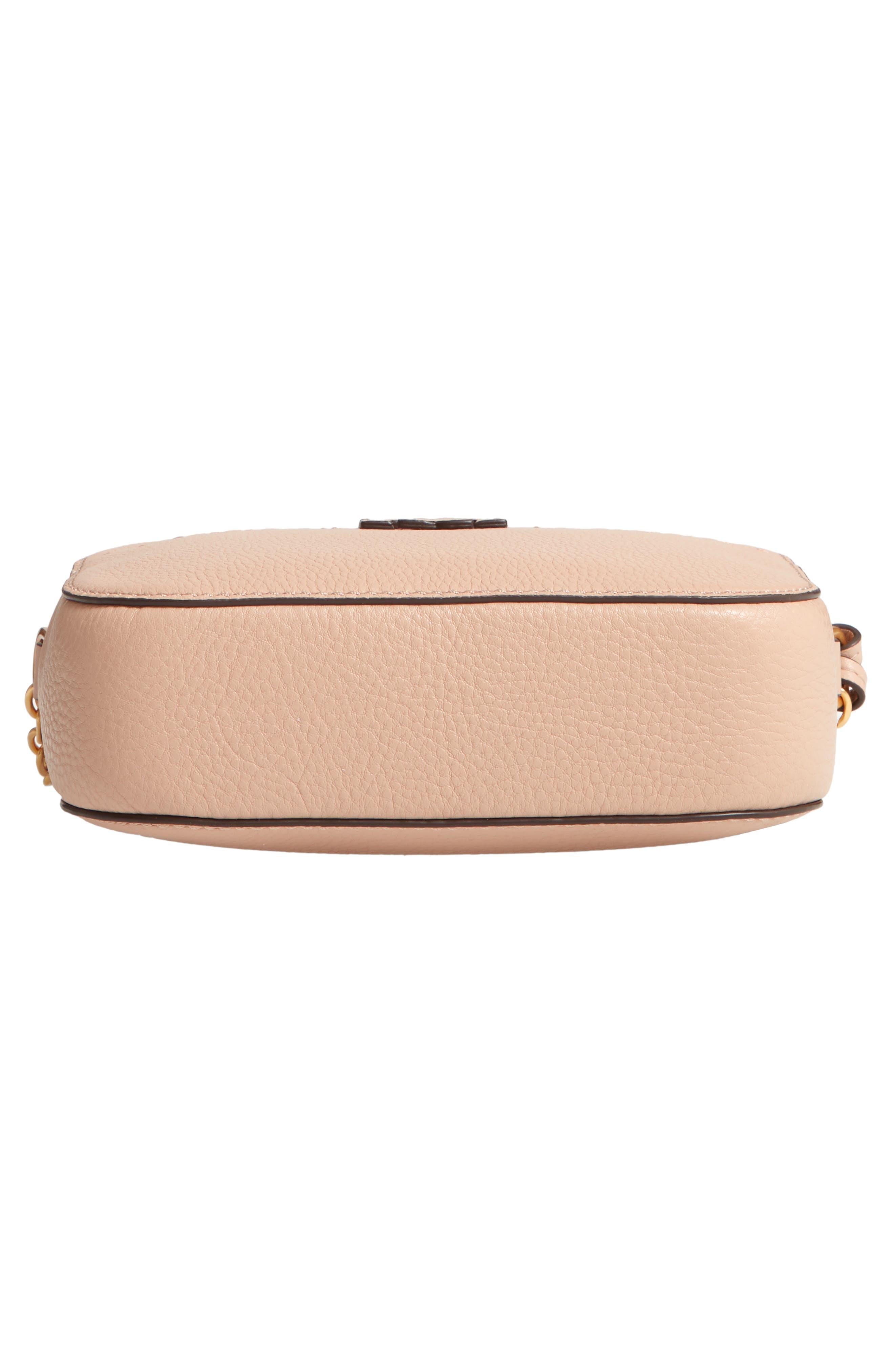 McGraw Leather Camera Bag,                             Alternate thumbnail 6, color,                             DEVON SAND