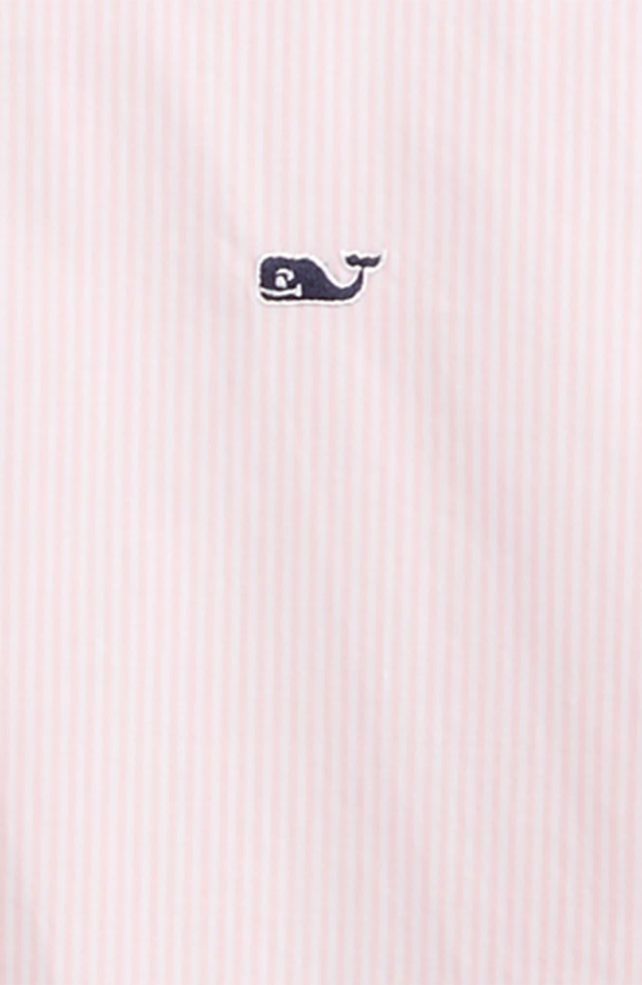 Fine Line Stripe - Whale Woven Shirt,                             Alternate thumbnail 2, color,                             686