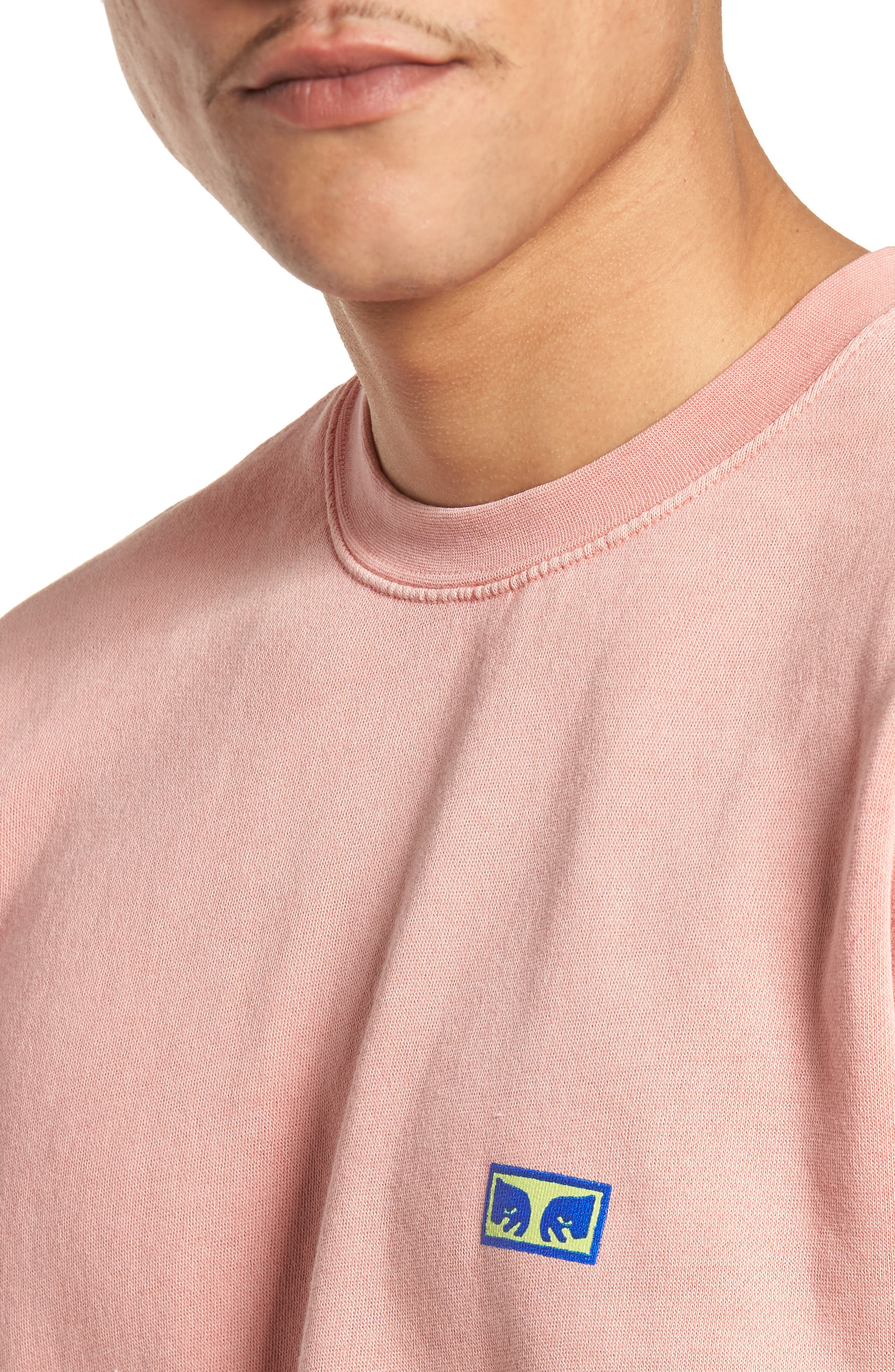 Flashback Pigment Dyed Sweatshirt,                             Alternate thumbnail 4, color,