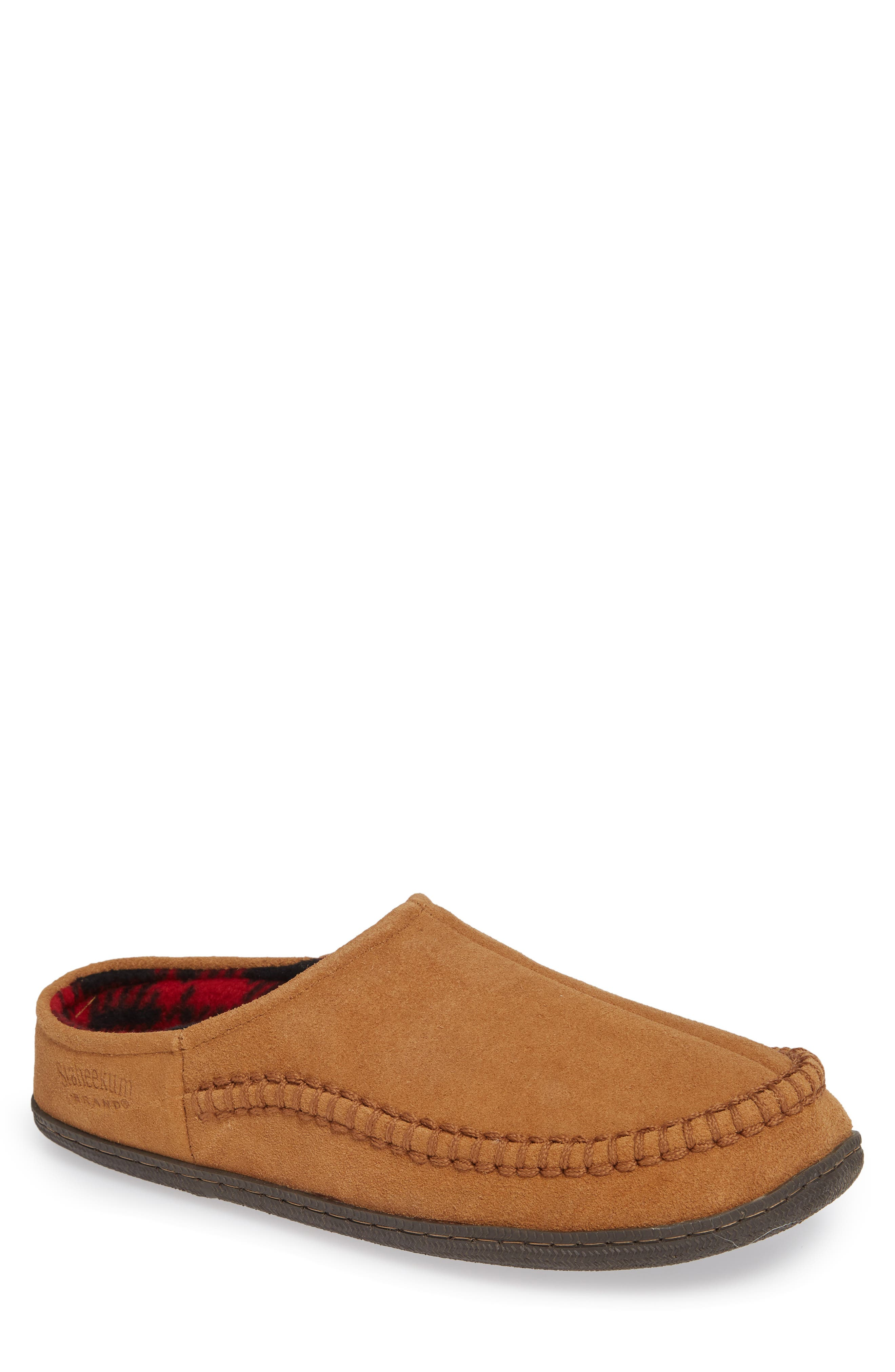 Cypress Flannel Lined Slipper,                         Main,                         color, 212