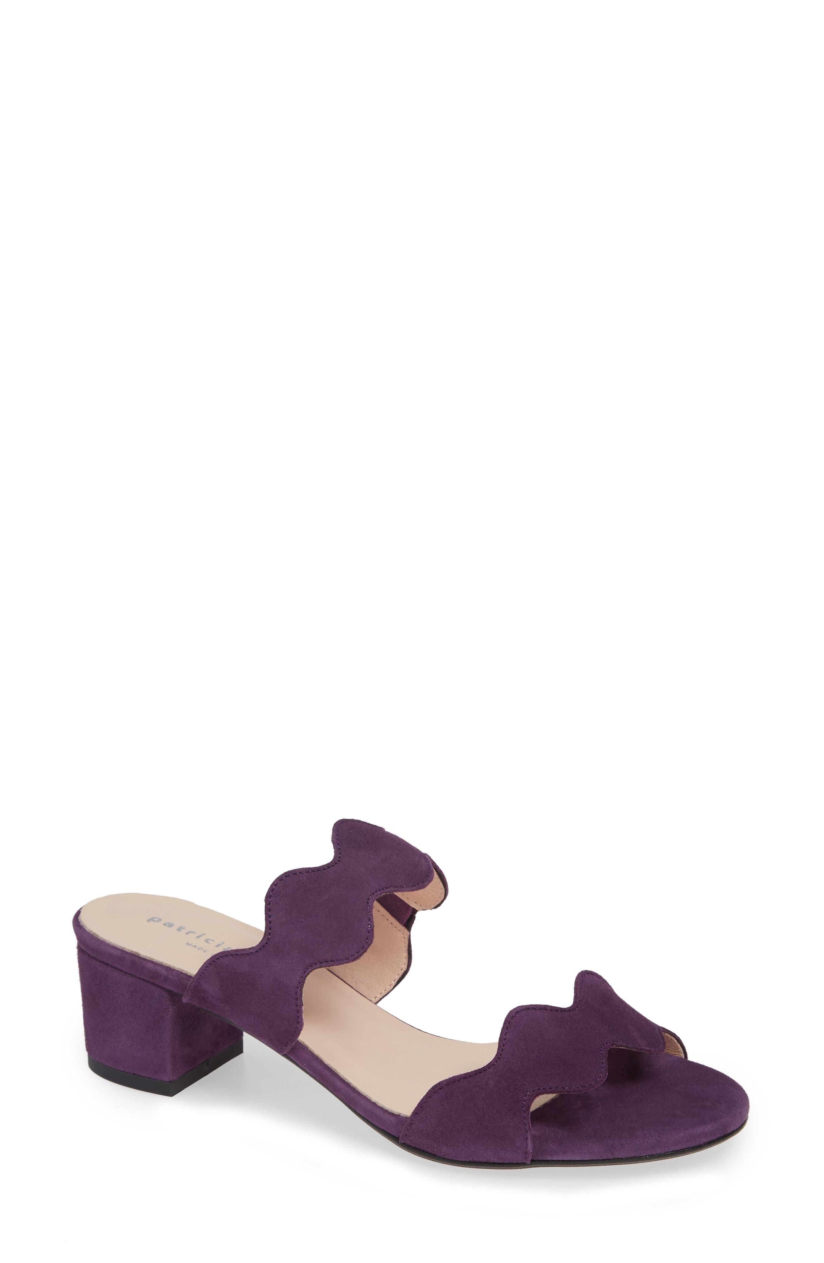 Patricia Green Palm Beach Slide Sandal, Purple
