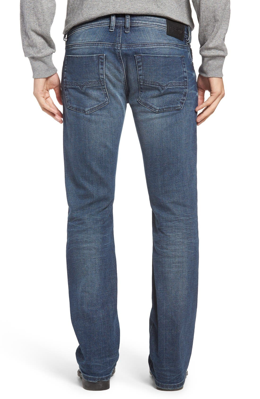 Zatiny Bootcut Jeans,                             Alternate thumbnail 5, color,                             400