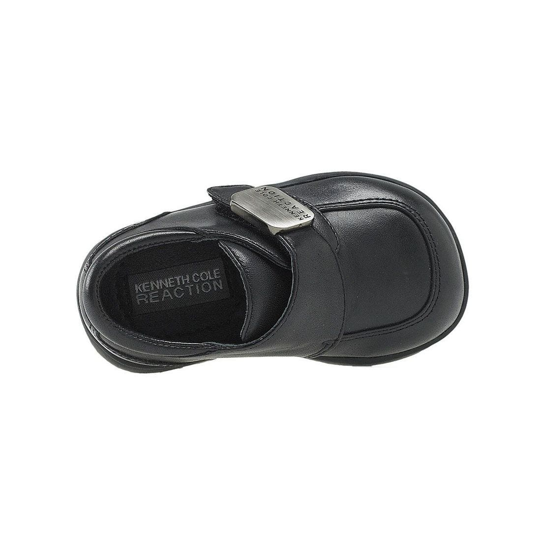 Reaction Kenneth Cole 'Tiny Flex' Slip-On,                             Alternate thumbnail 4, color,                             BLACK