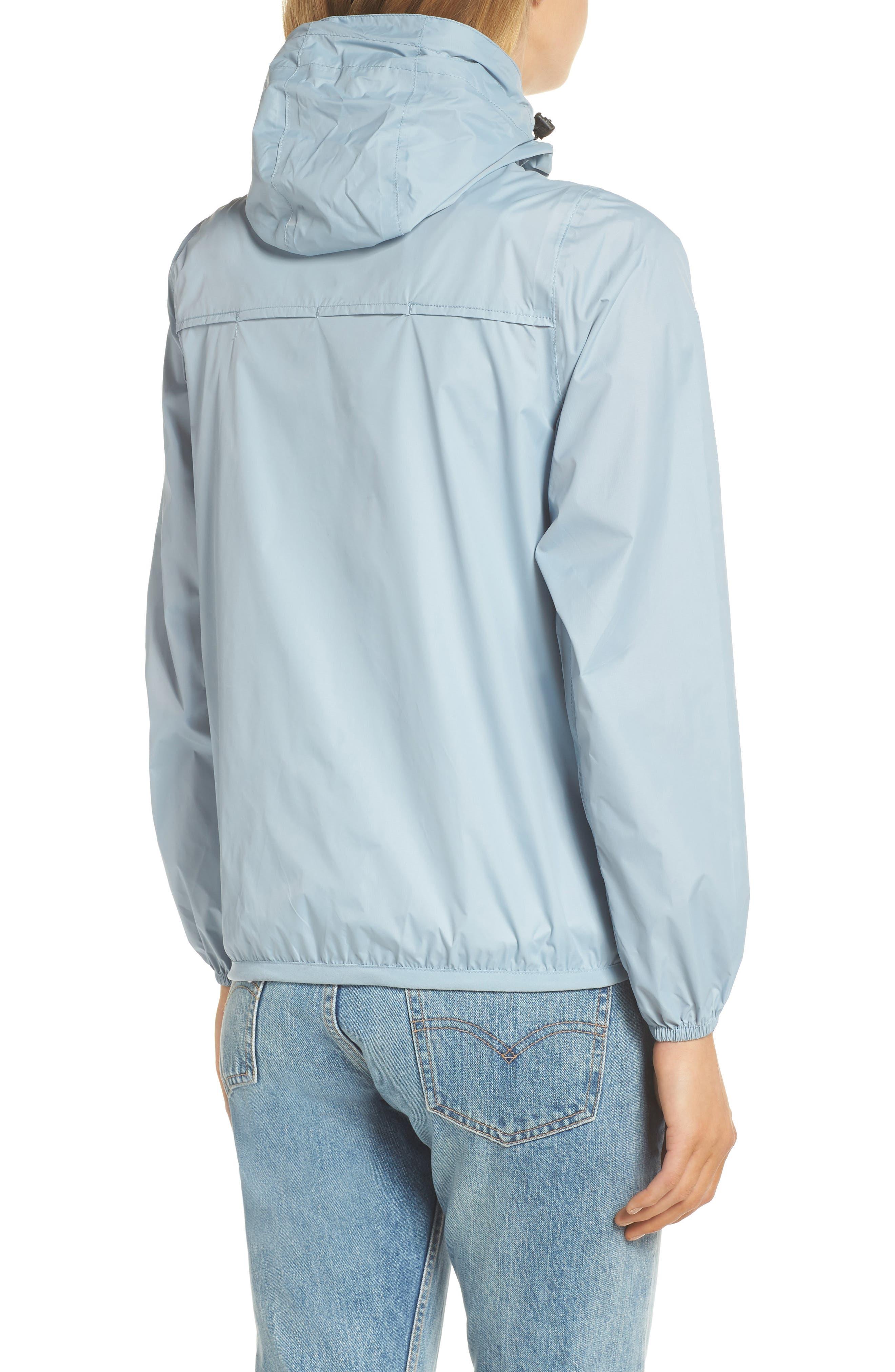 Packable Rain Jacket,                             Alternate thumbnail 2, color,                             CELESTIAL BLUE