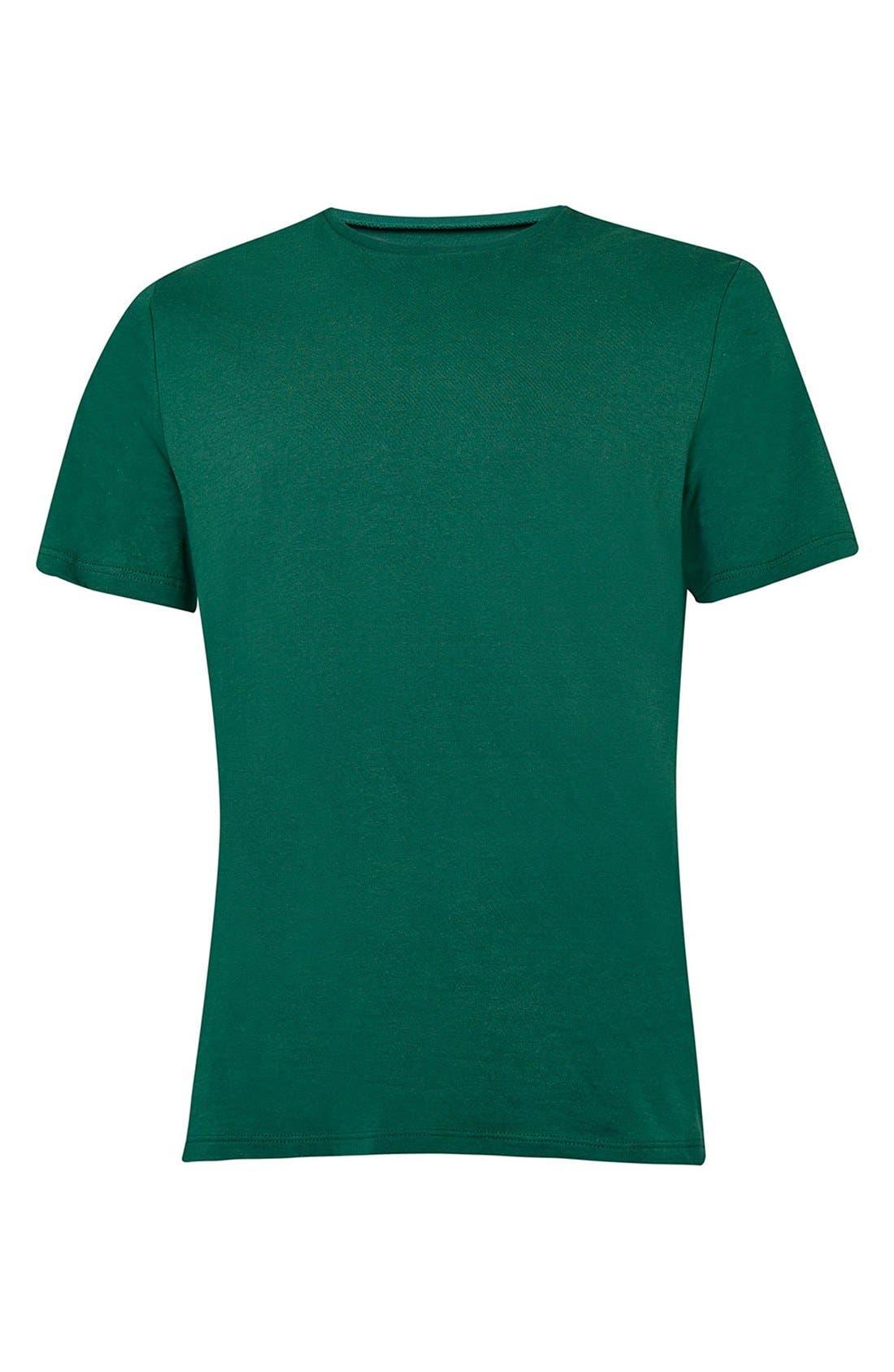 Slim Fit Crewneck T-Shirt,                             Alternate thumbnail 404, color,