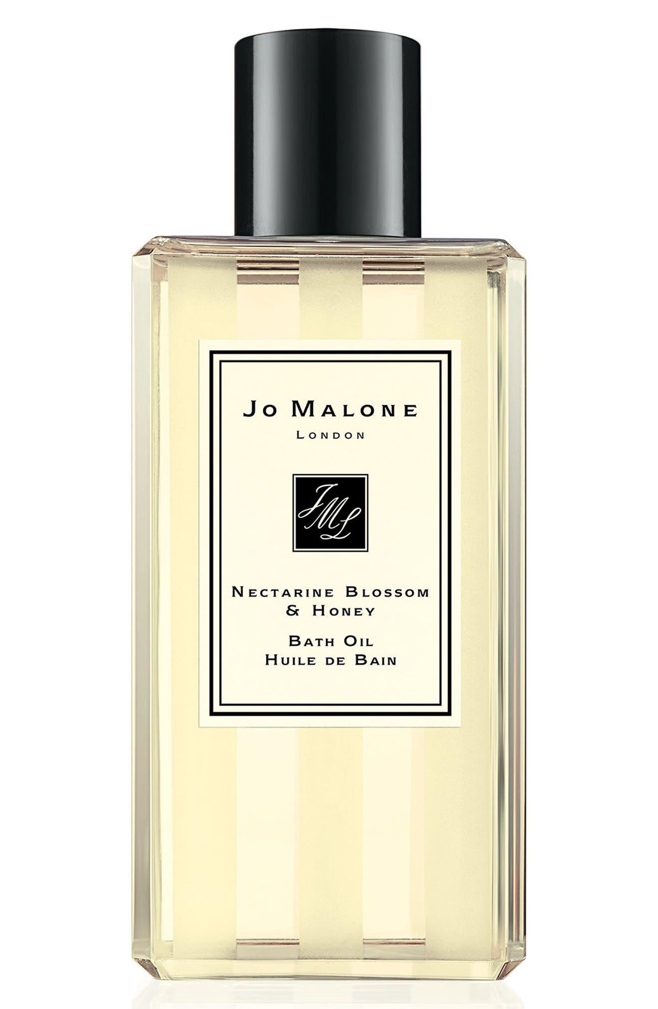 Nectarine Blossom & Honey Bath Oil,                             Main thumbnail 1, color,