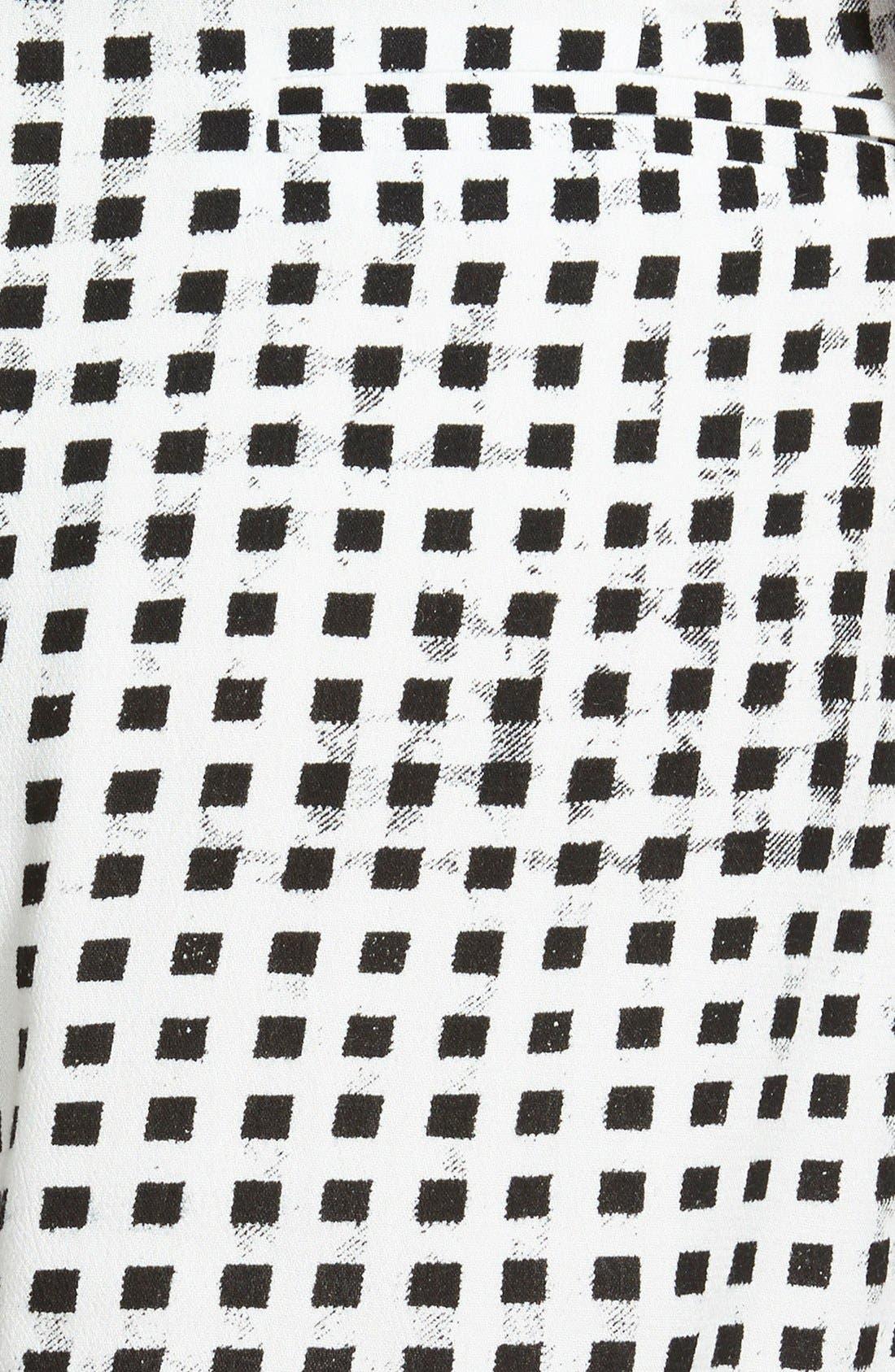 Gingham Shorts,                             Alternate thumbnail 4, color,                             001