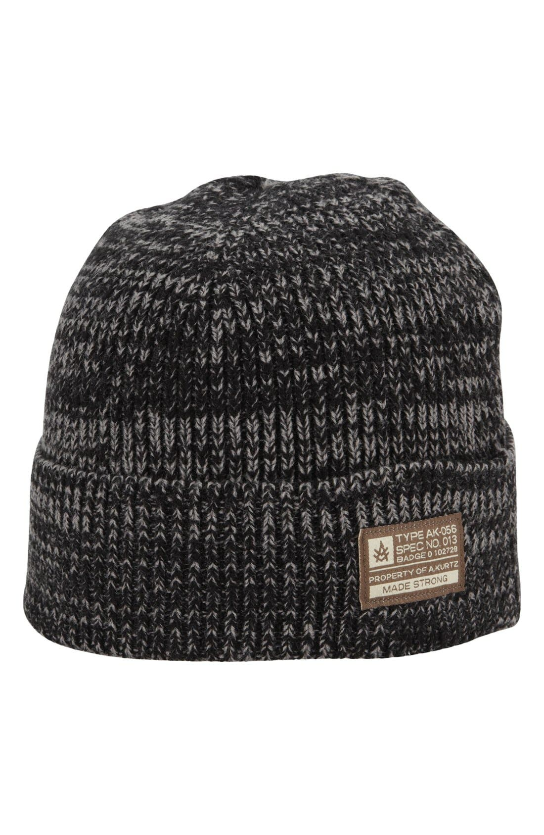 'Bounty' Knit Cap,                             Main thumbnail 1, color,                             001
