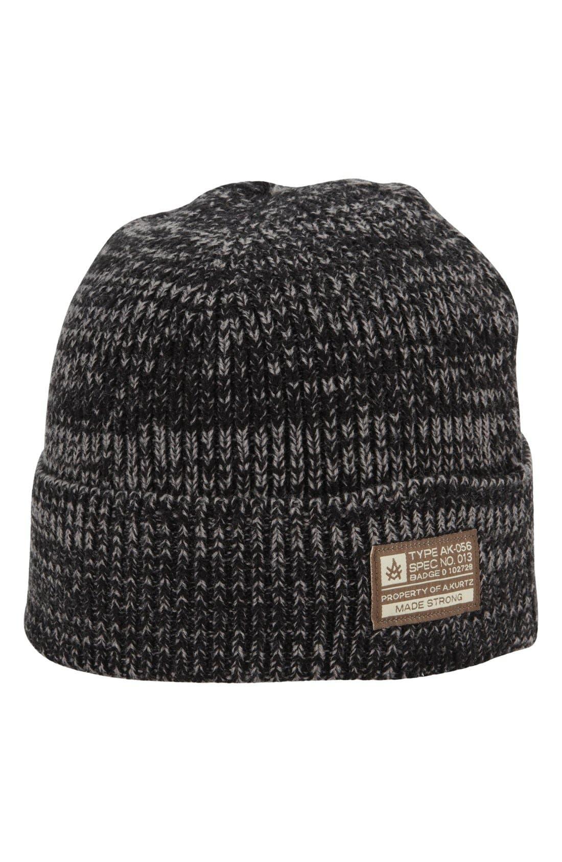 'Bounty' Knit Cap,                         Main,                         color, 001