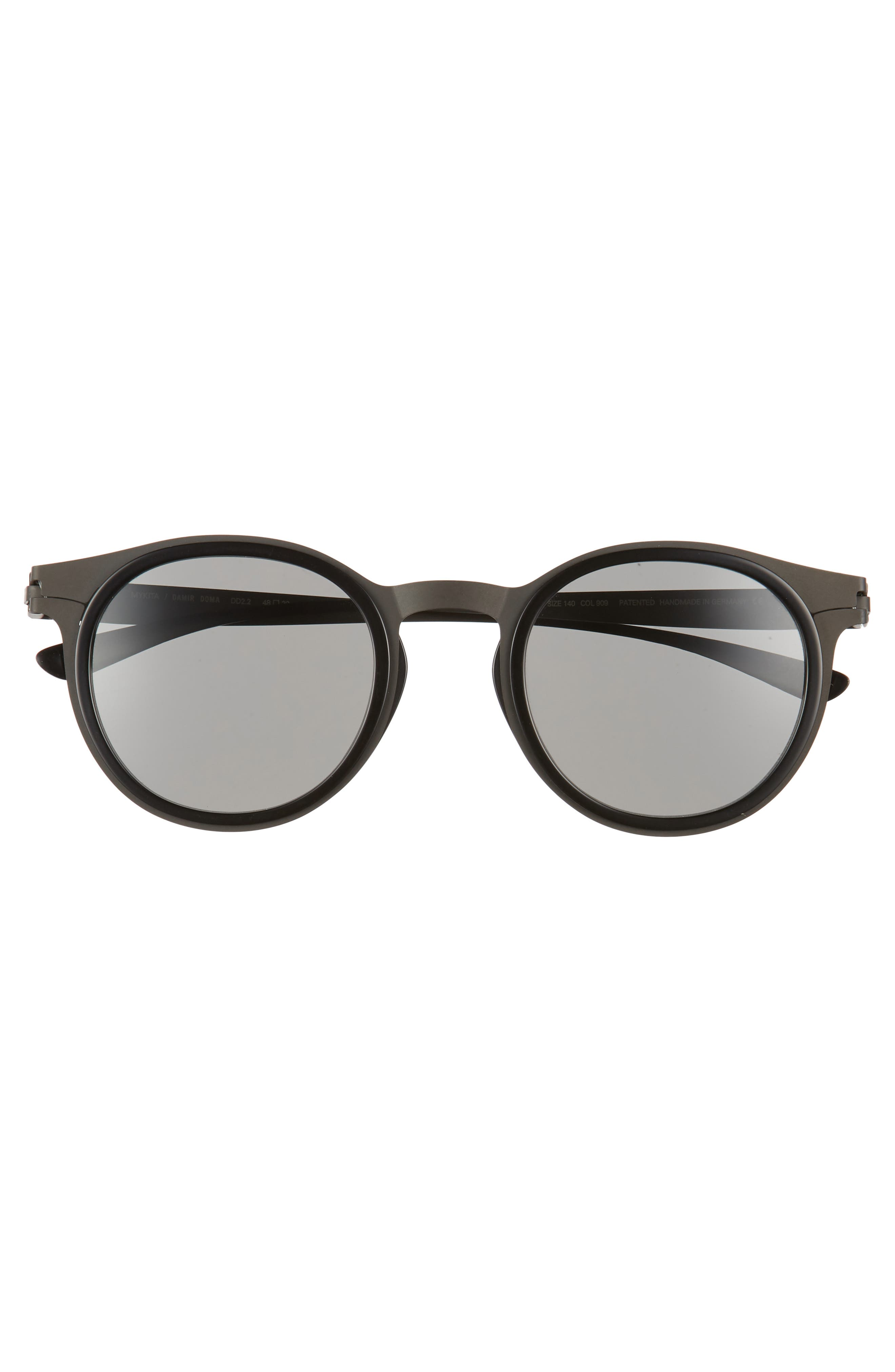 DD2.2 48mm Round Sunglasses,                             Alternate thumbnail 2, color,                             001