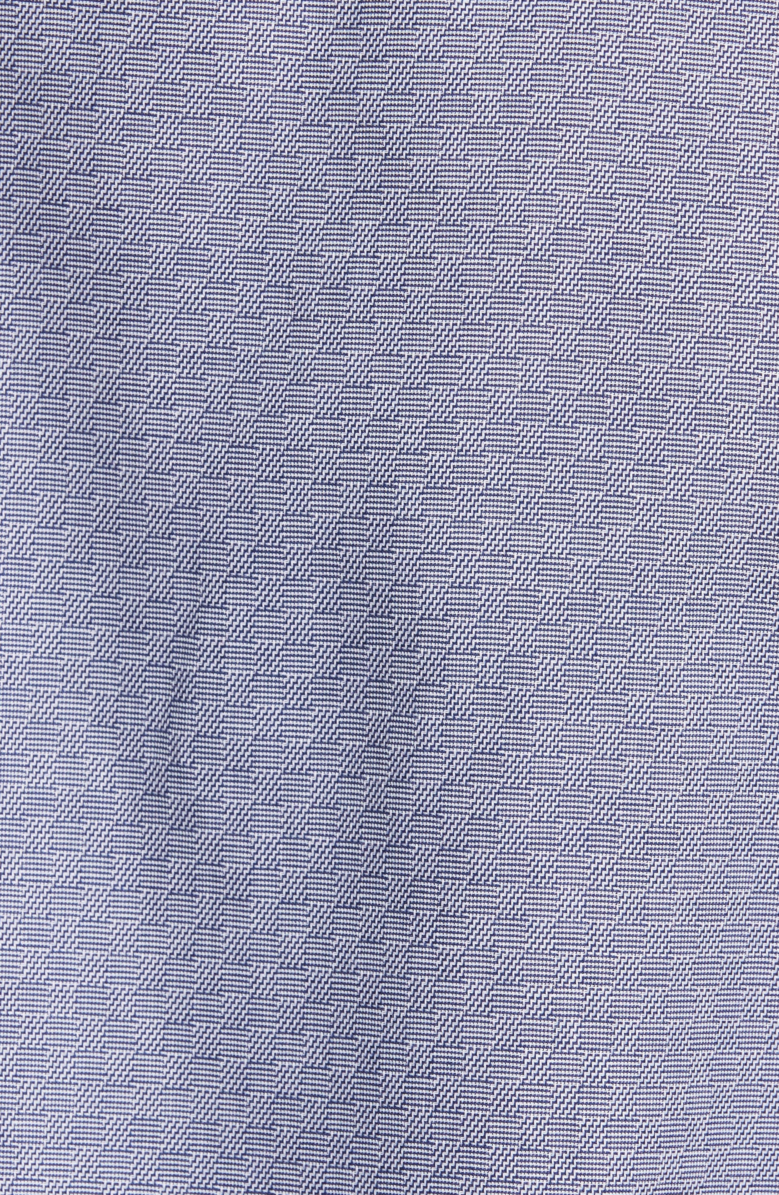 Geo Jacquard Sport Shirt,                             Alternate thumbnail 5, color,