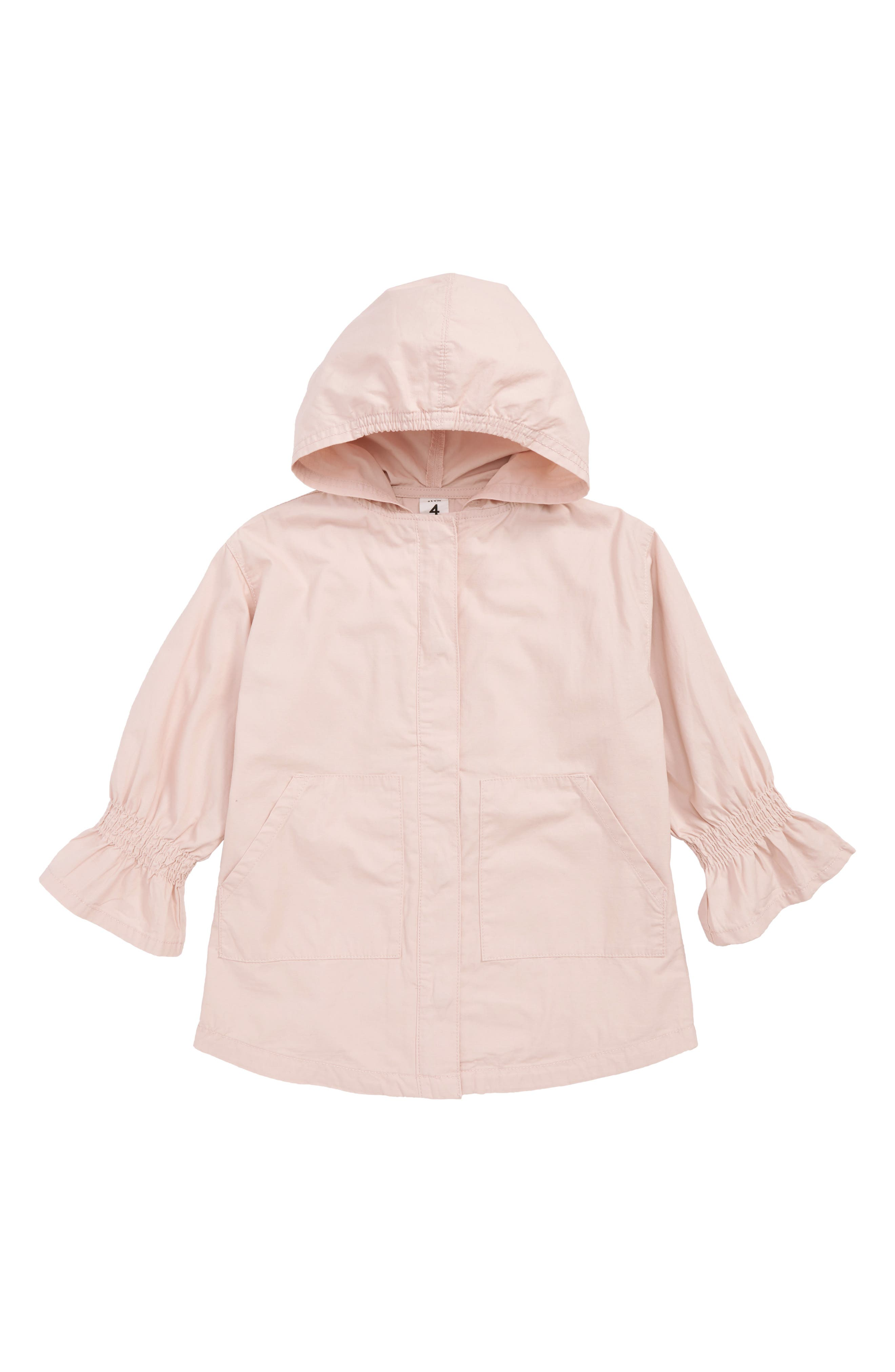 Smock Sleeve Parka Jacket,                         Main,                         color, 680